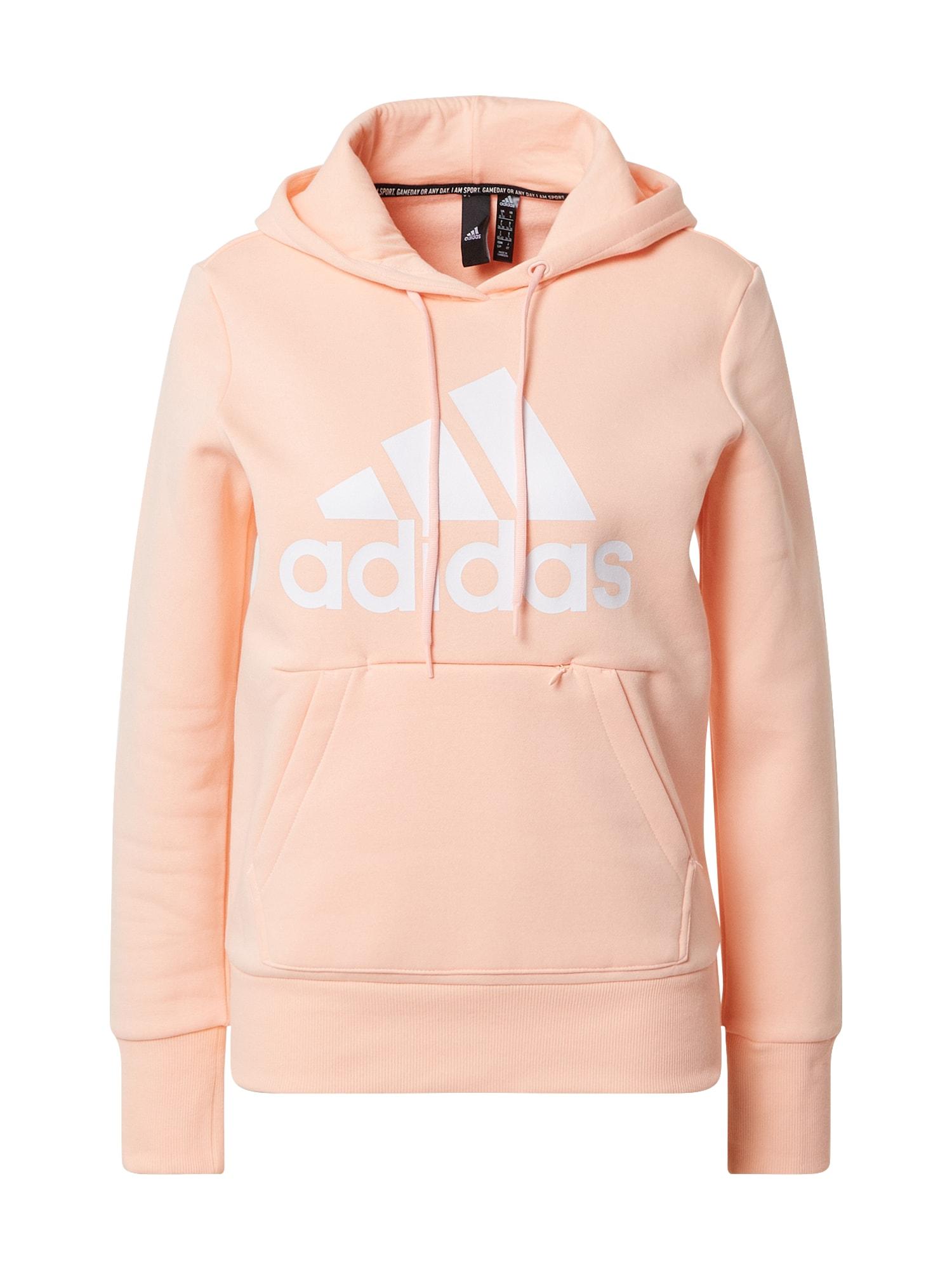 ADIDAS PERFORMANCE Športová mikina  ružová / oranžová / koralová
