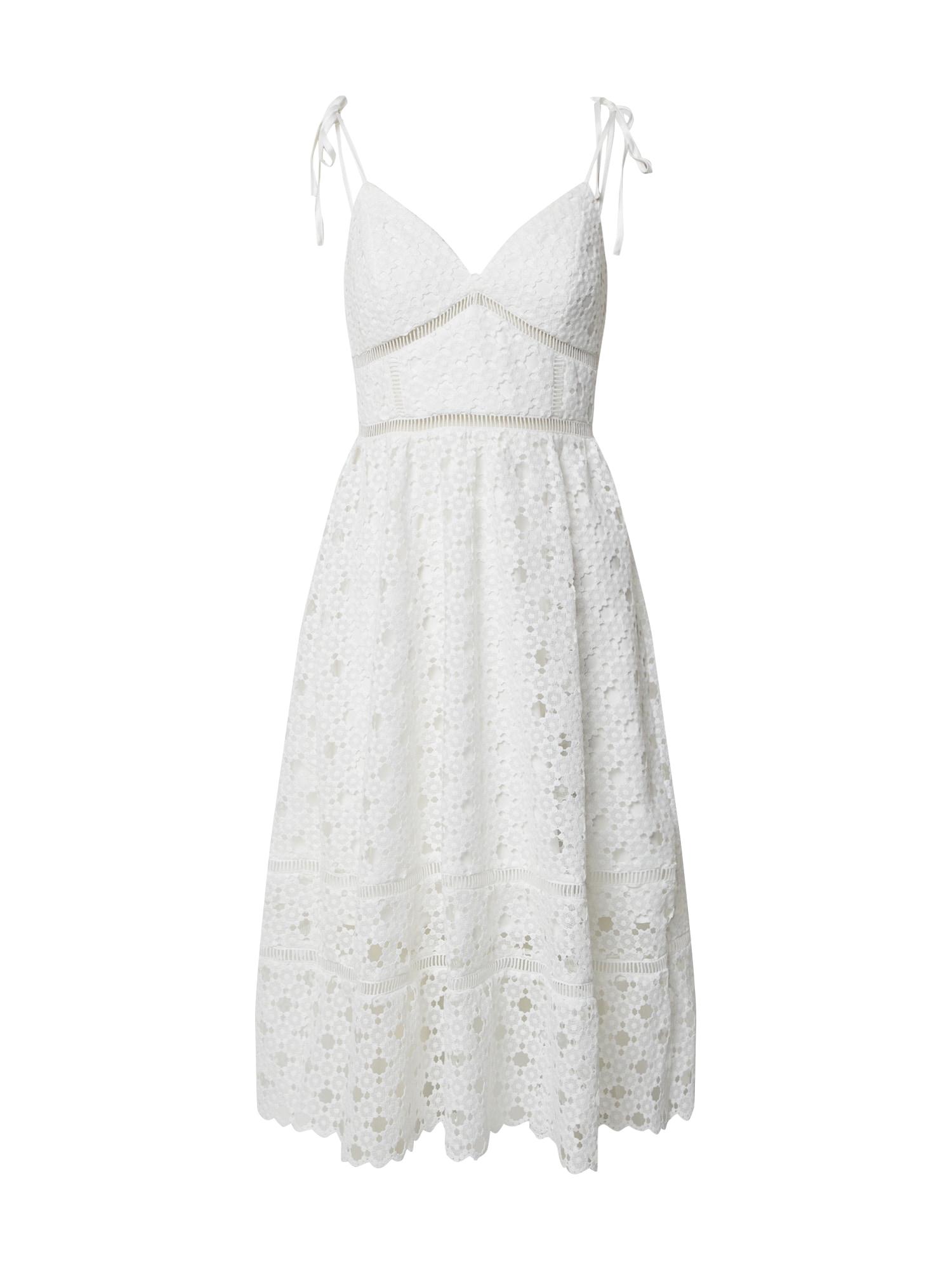 Bardot Vasarinė suknelė 'LOUISIANA' balta