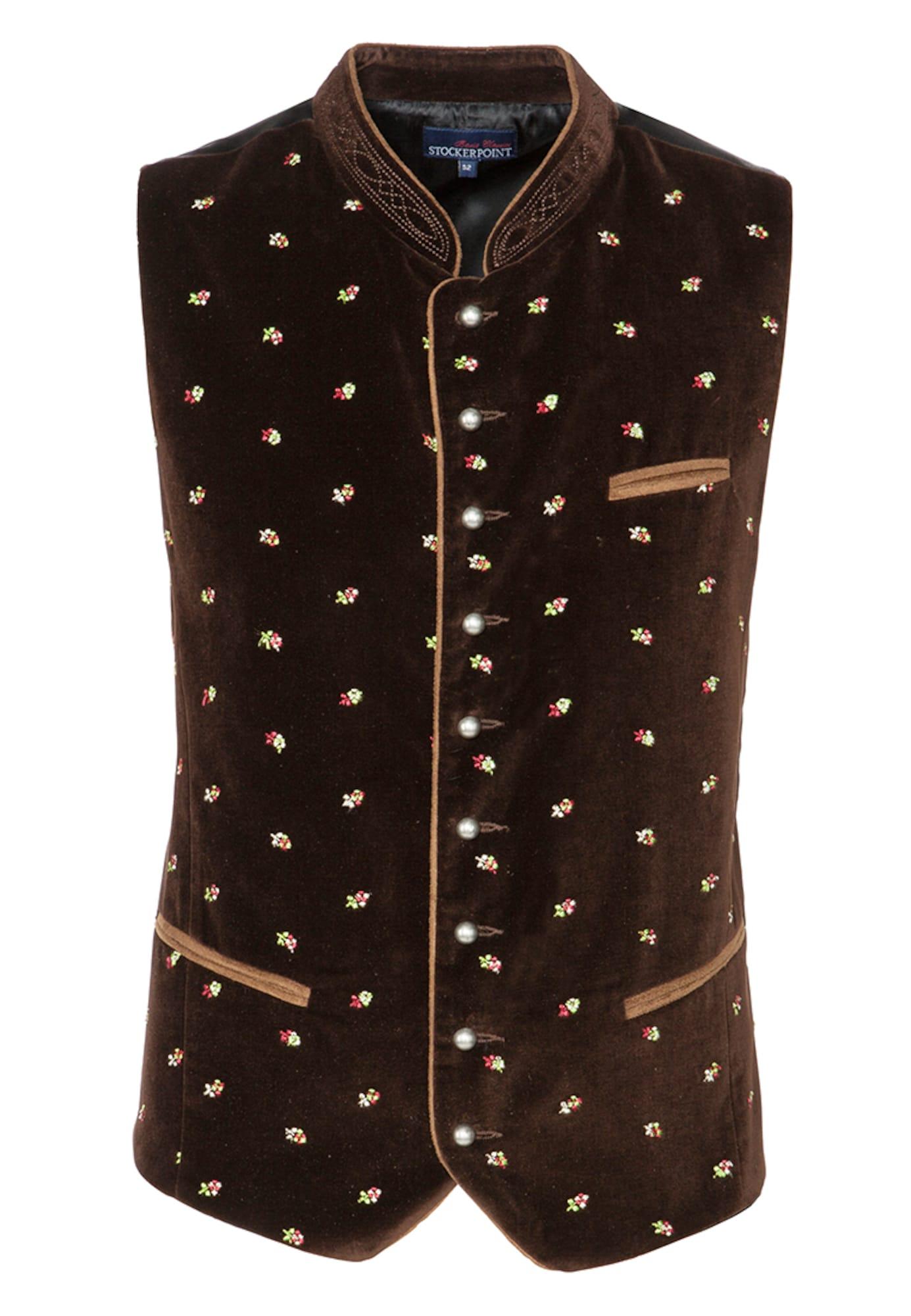 STOCKERPOINT Dalykinio stiliaus liemenė 'Calzado' ruda