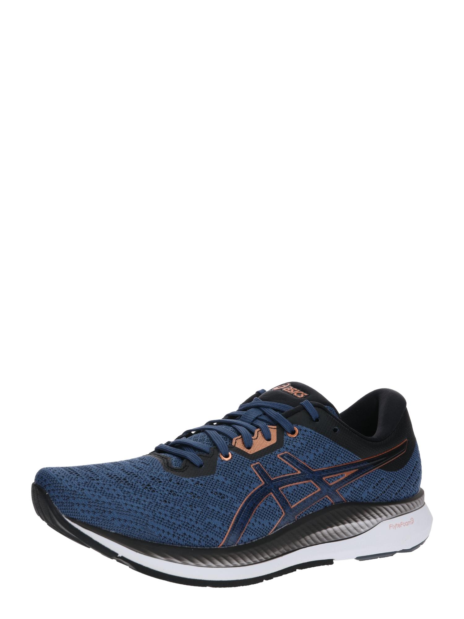 ASICS Bėgimo batai 'Evoride' mėlyna / abrikosų spalva