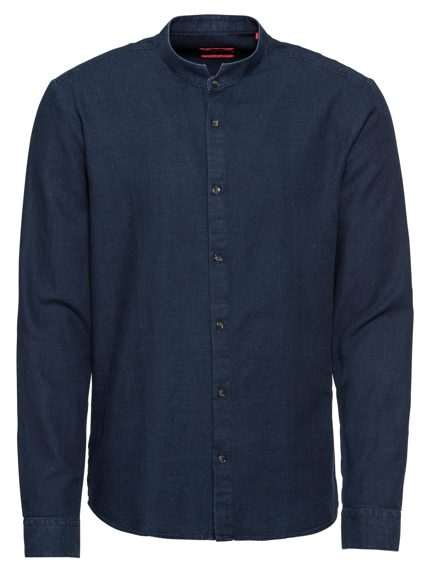 HUGO Společenská košile 'Elvorini 10209236 01'  námořnická modř
