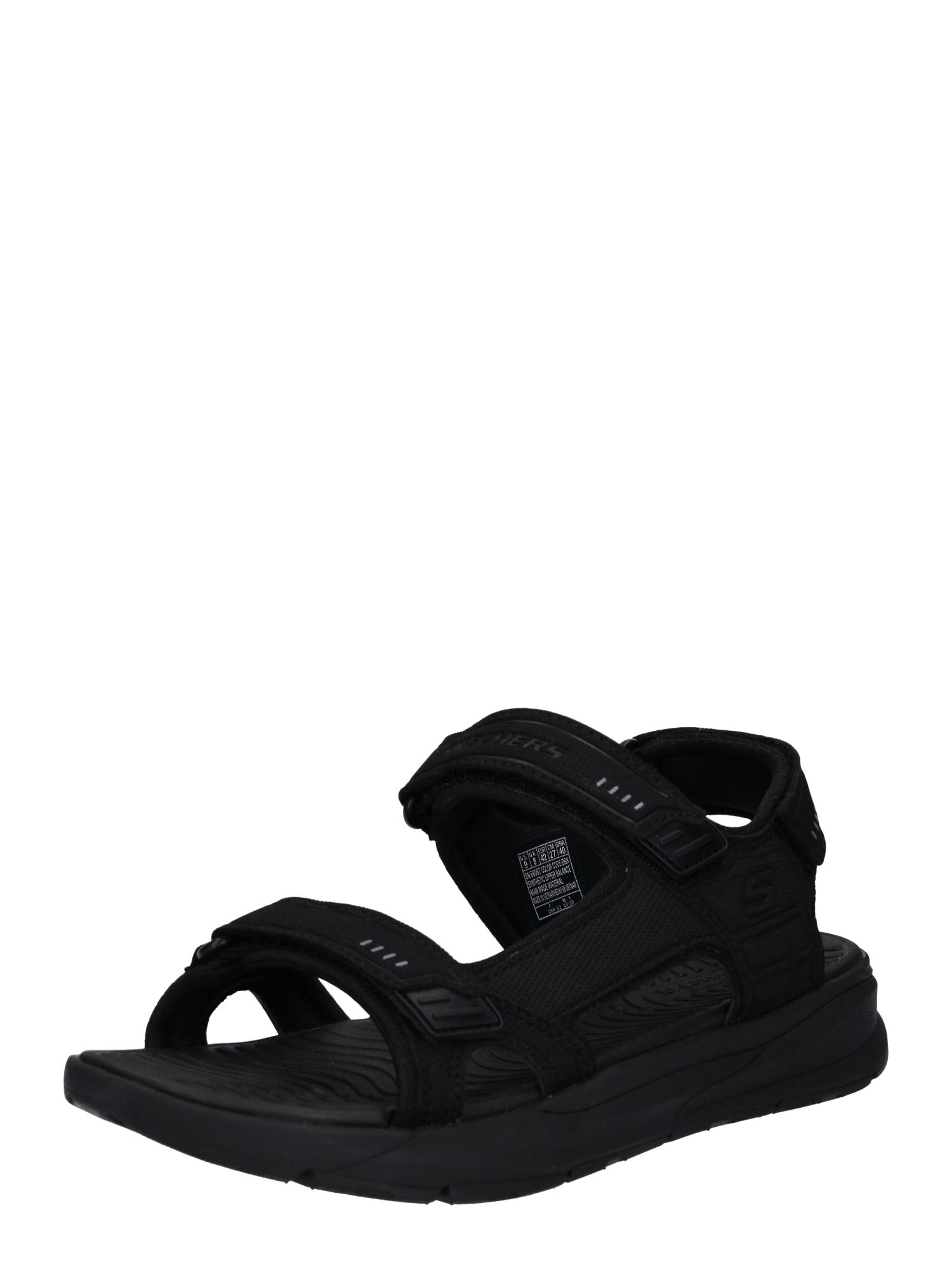 Sandály RELONE - SENCO černá SKECHERS