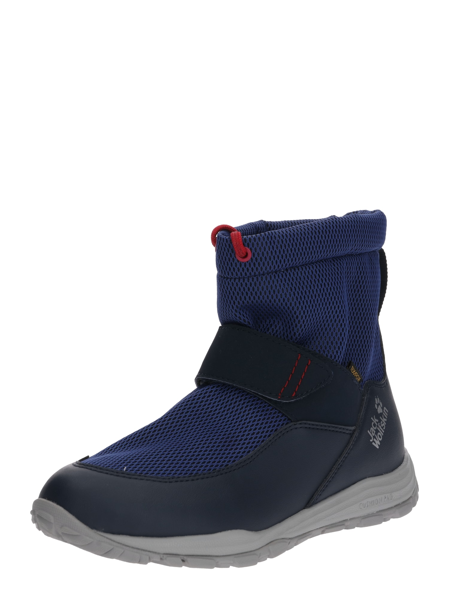 JACK WOLFSKIN Sportiniai batai 'KIWI WT TEXAPORE MID K' tamsiai mėlyna