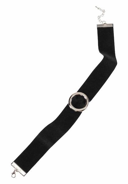 Ketten für Frauen - J. Jayz Halsband schwarz silber  - Onlineshop ABOUT YOU