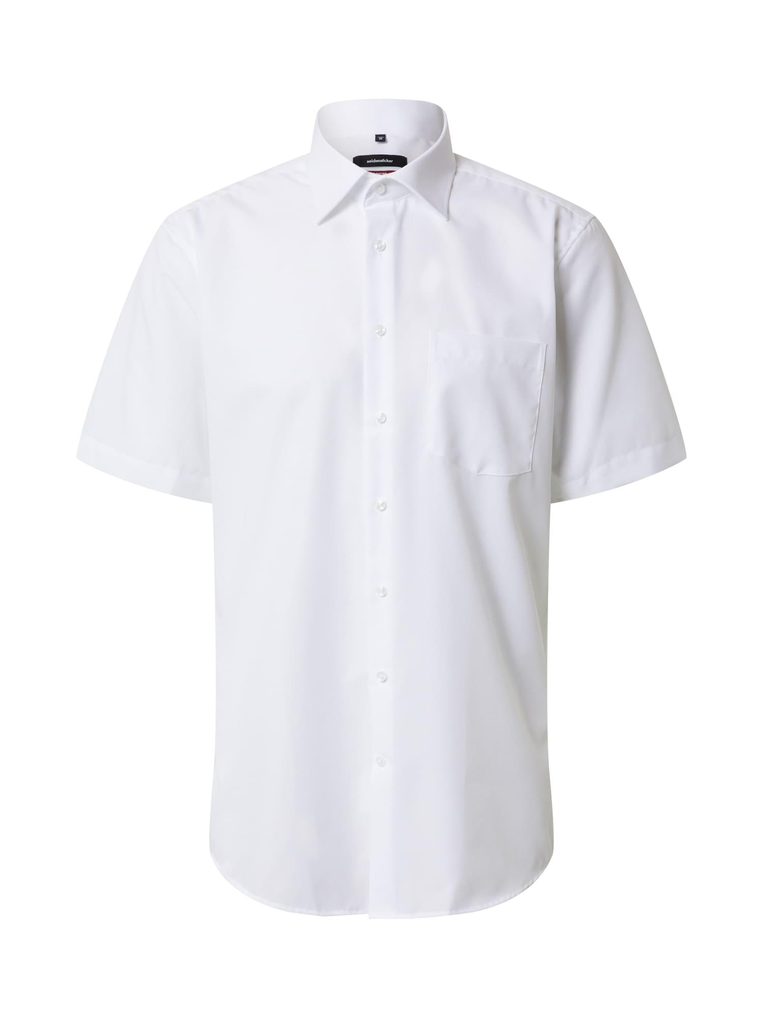 SEIDENSTICKER Společenská košile  bílá