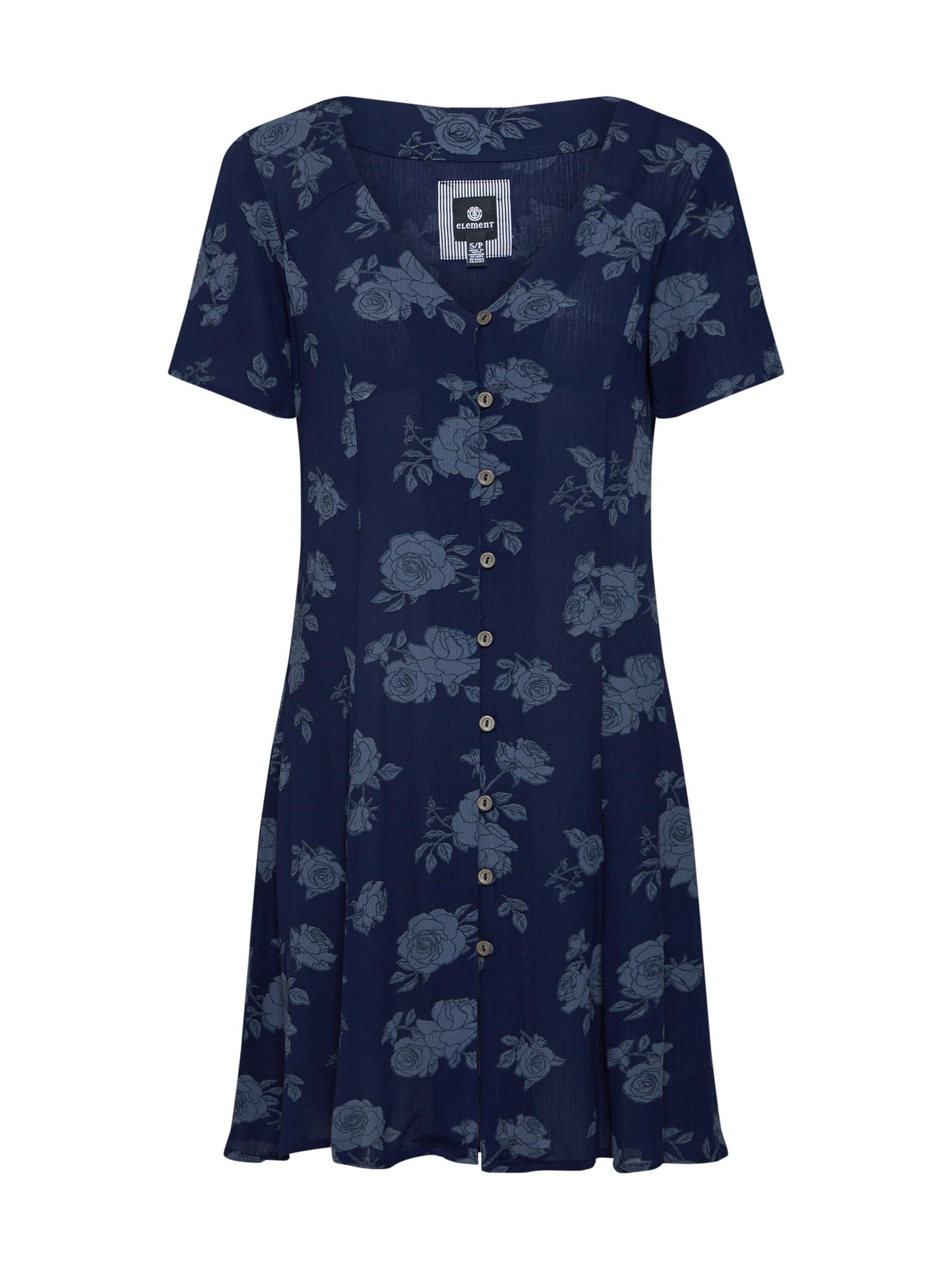 Šaty sarah námořnická modř světlemodrá ELEMENT