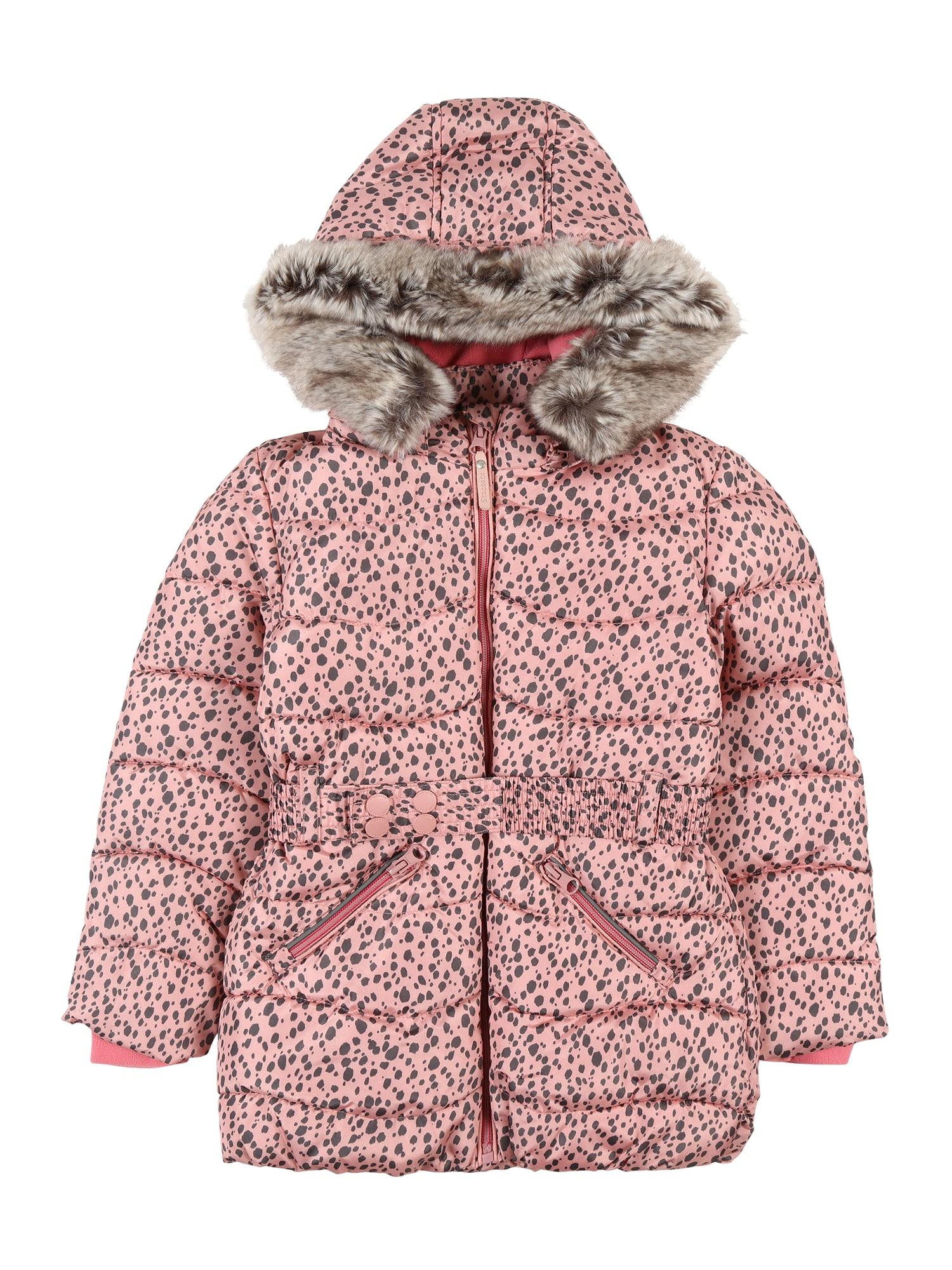 STACCATO Zimní bunda  starorůžová / antracitová