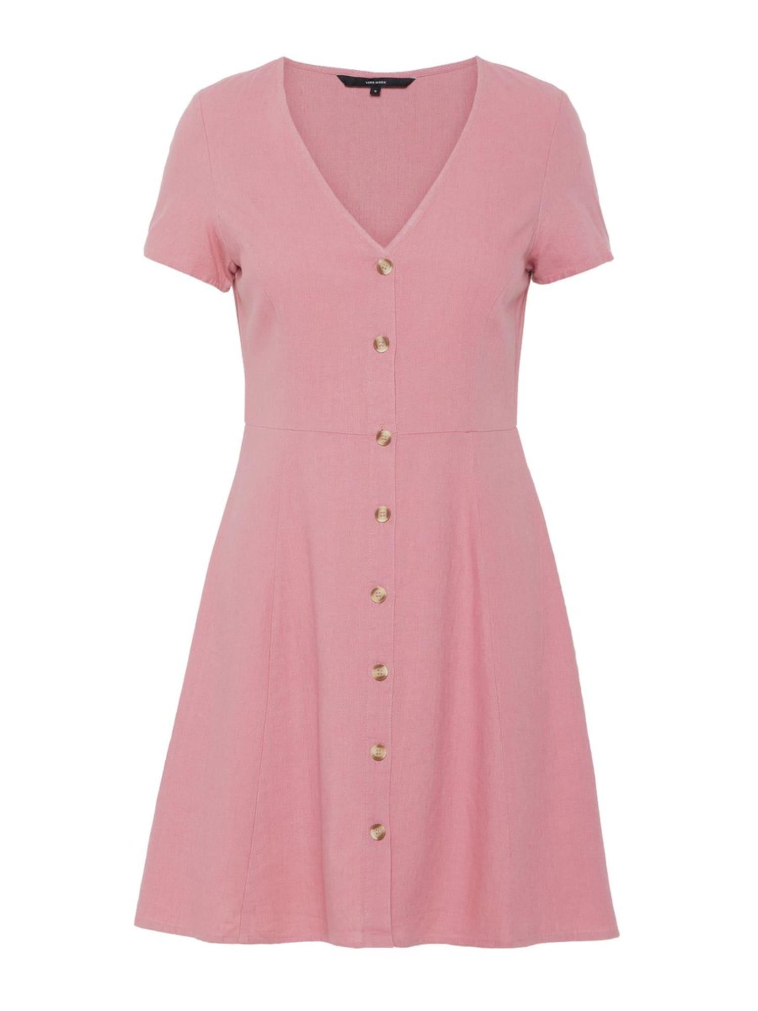 Letní šaty Anna starorůžová VERO MODA