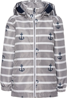 NAME IT gestreifte Anker-Jacke 'nitmellon'