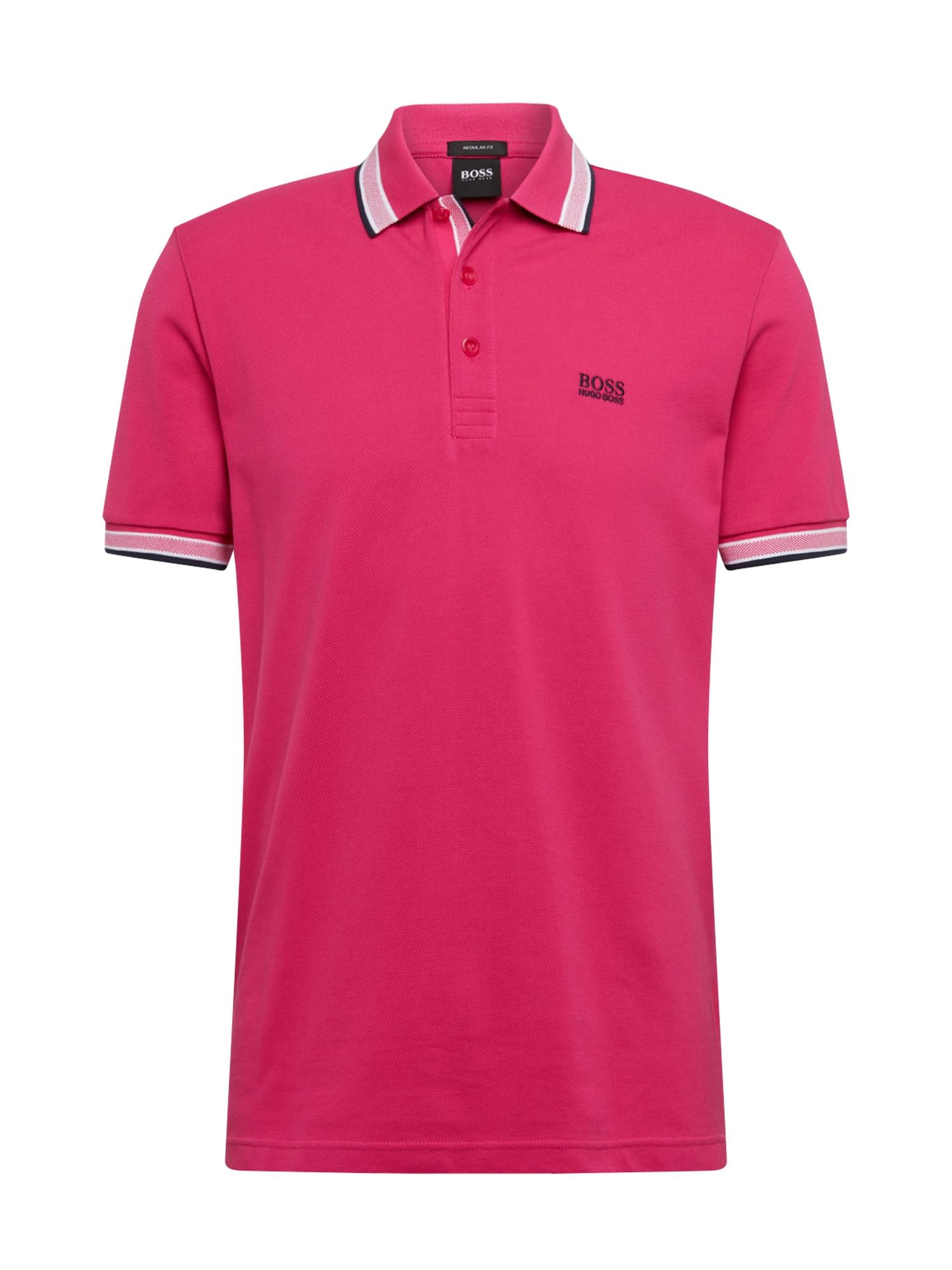 BOSS ATHLEISURE Marškinėliai 'Paddy' rožinė