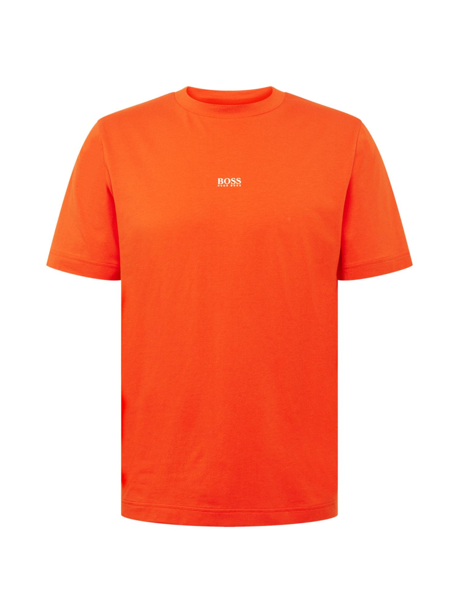 Tričko TChup 10216254 01 tmavě oranžová BOSS