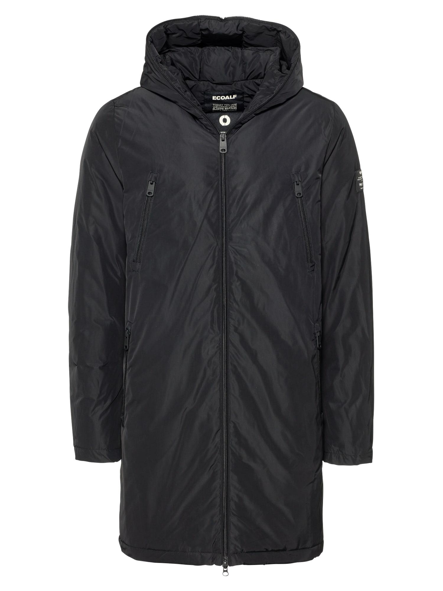 Zimní kabát LIVORNO černá ECOALF