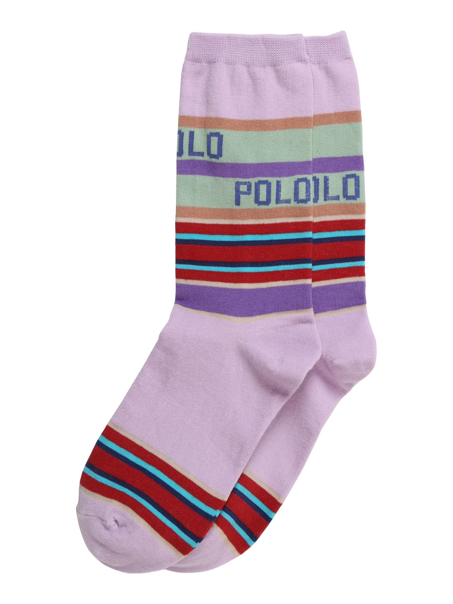 Ponožky fialová POLO RALPH LAUREN