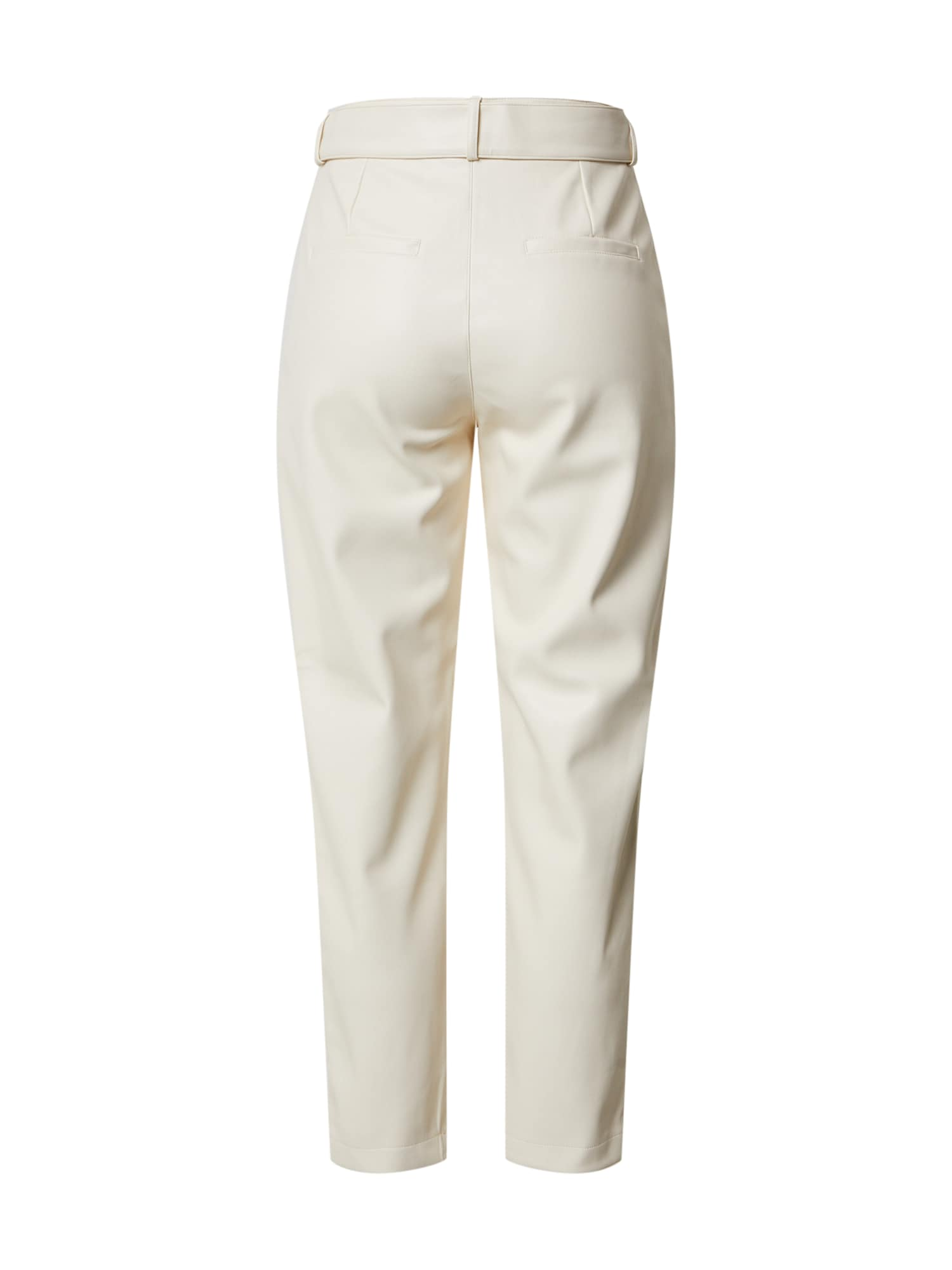 dorothy perkins - Hose 'Cream PU Belted Trouser'