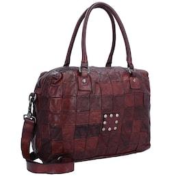 Damen Campomaggi Centella Handtasche Leder 40cm braun | 08052795196347