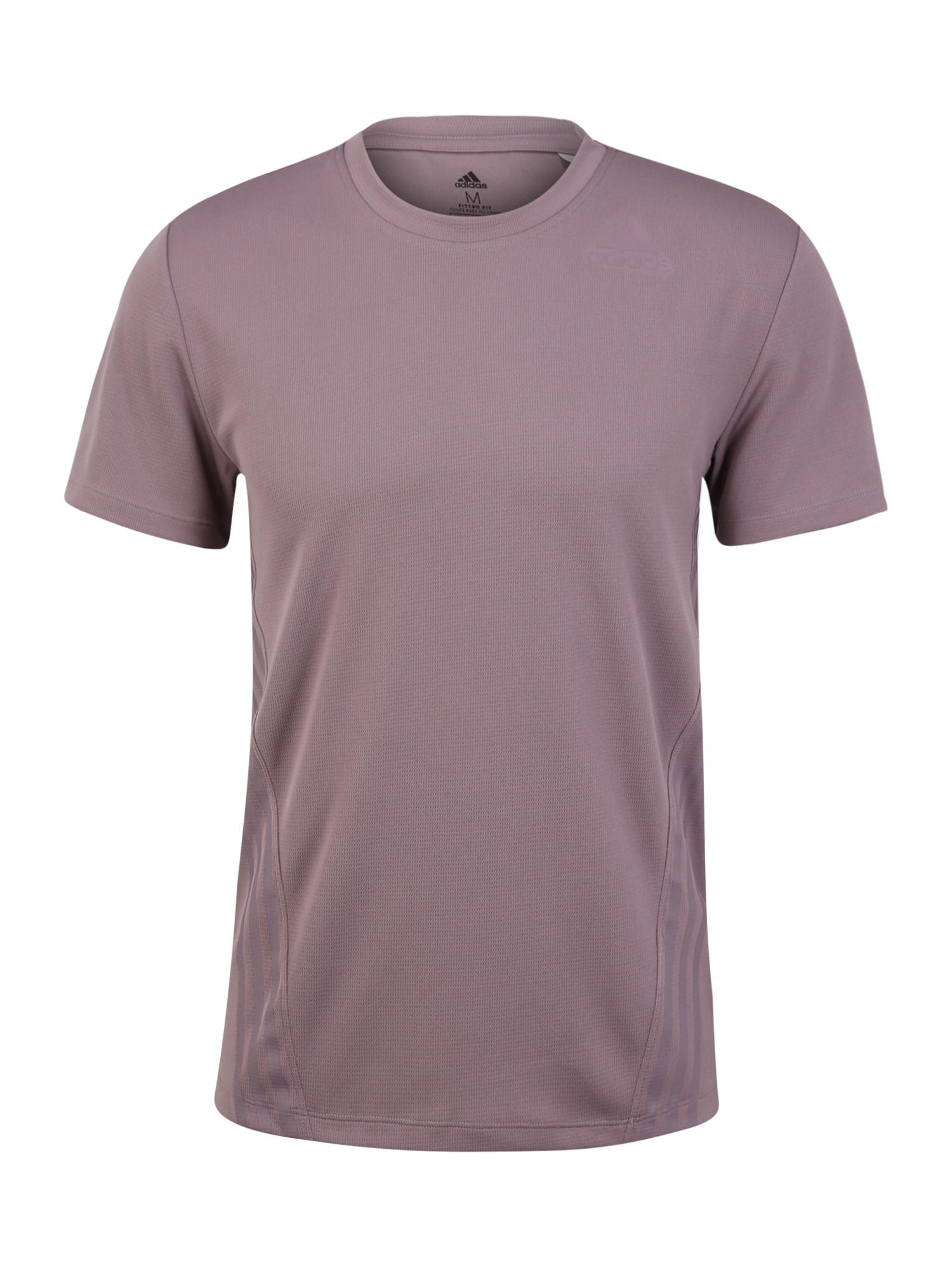 ADIDAS PERFORMANCE Sportiniai marškinėliai 'AERO 3S TEE' purpurinė