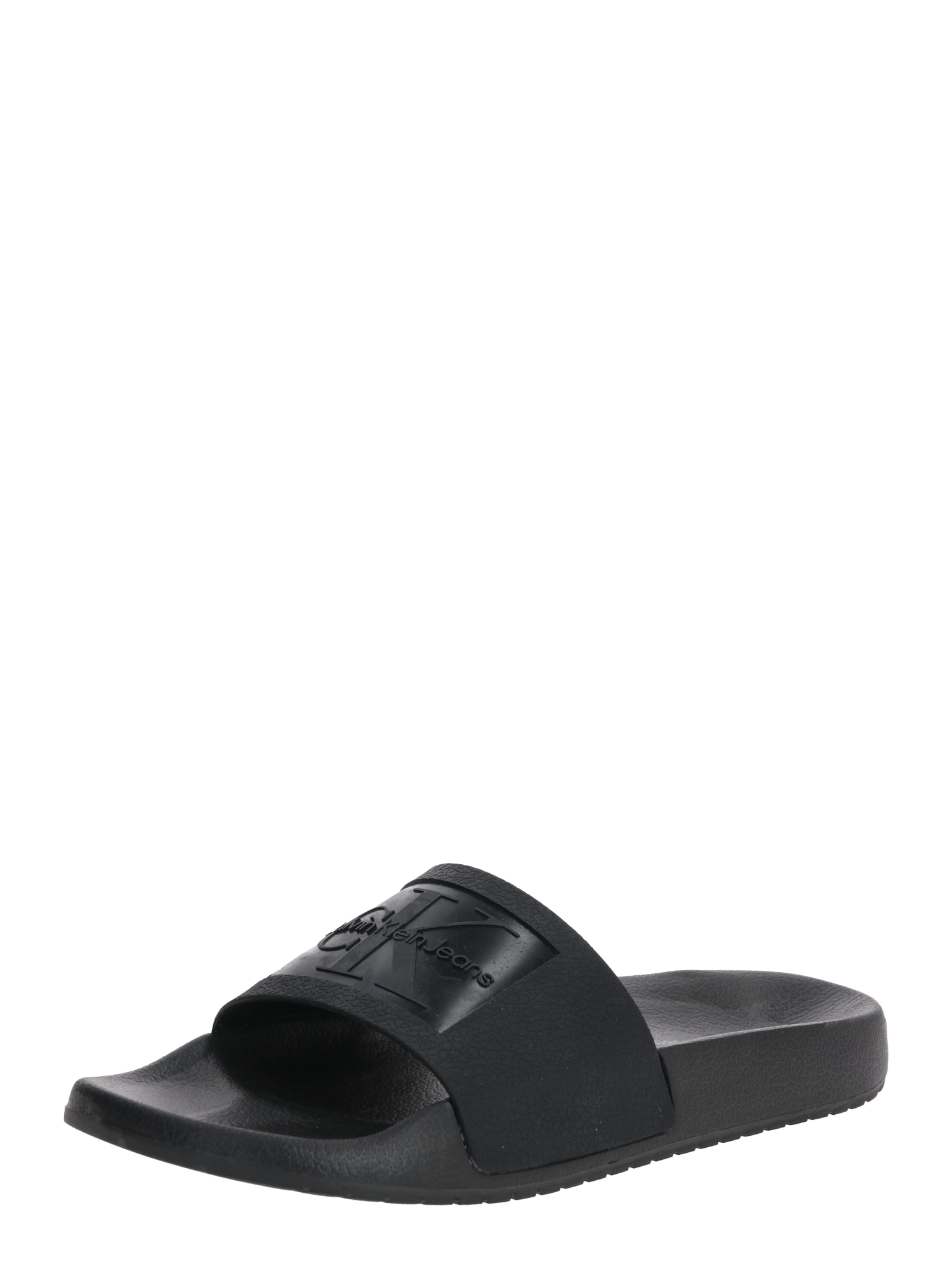 Calvin Klein Jeans Pantofle  černá
