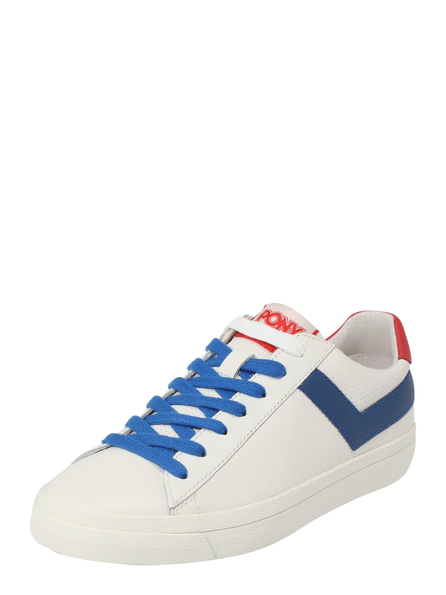 Tenisky TOPSTAR modrá červená bílá PONY
