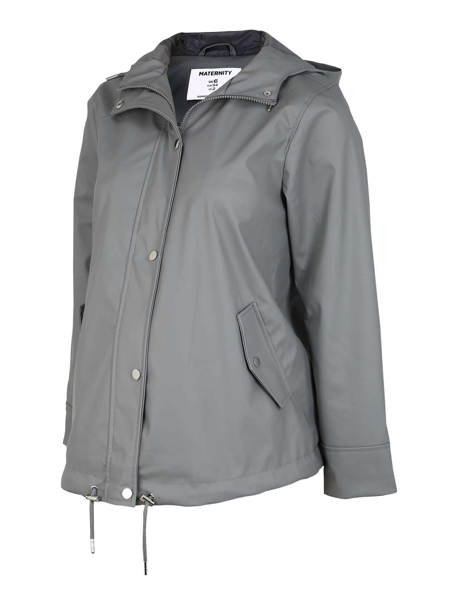 Dorothy Perkins Prechodná bunda 'Grey Rain'  sivá
