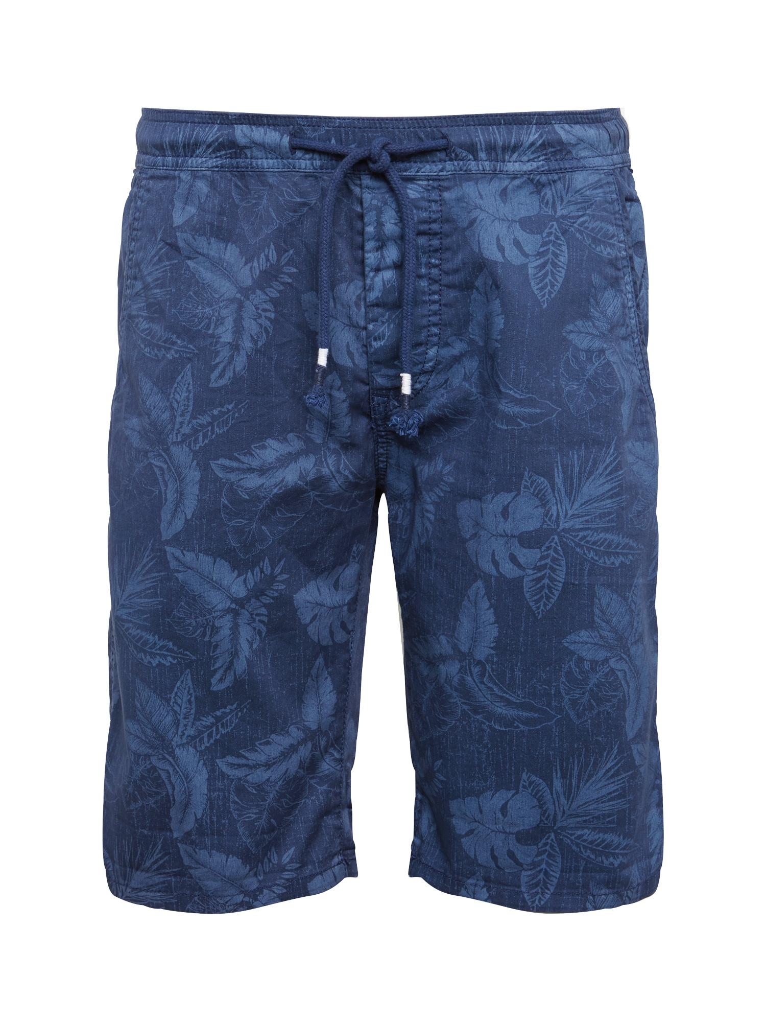 Kalhoty GRAIG BOTANICAL tmavě modrá Pepe Jeans