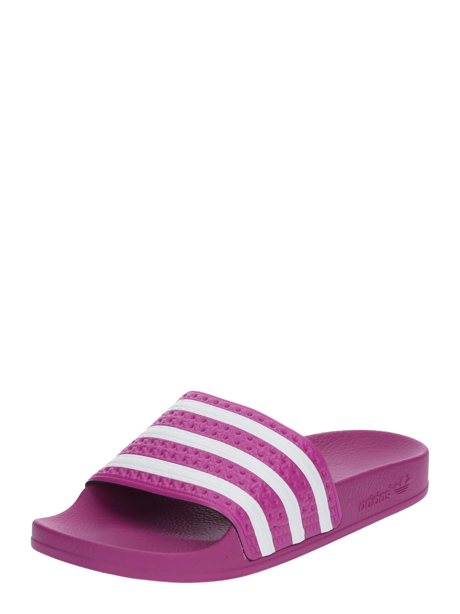 Pantofle Adilette bobule bílá ADIDAS ORIGINALS