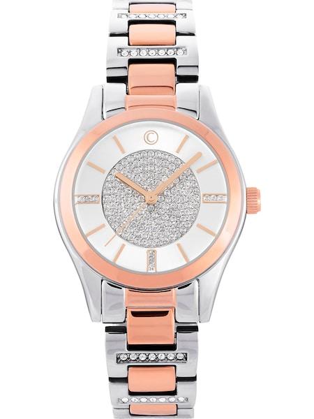 Uhren für Frauen - C Collection Uhr rosé silber  - Onlineshop ABOUT YOU