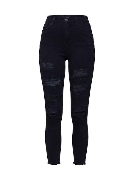 Hosen - Jeans 'SINNER' › Missguided › schwarz  - Onlineshop ABOUT YOU