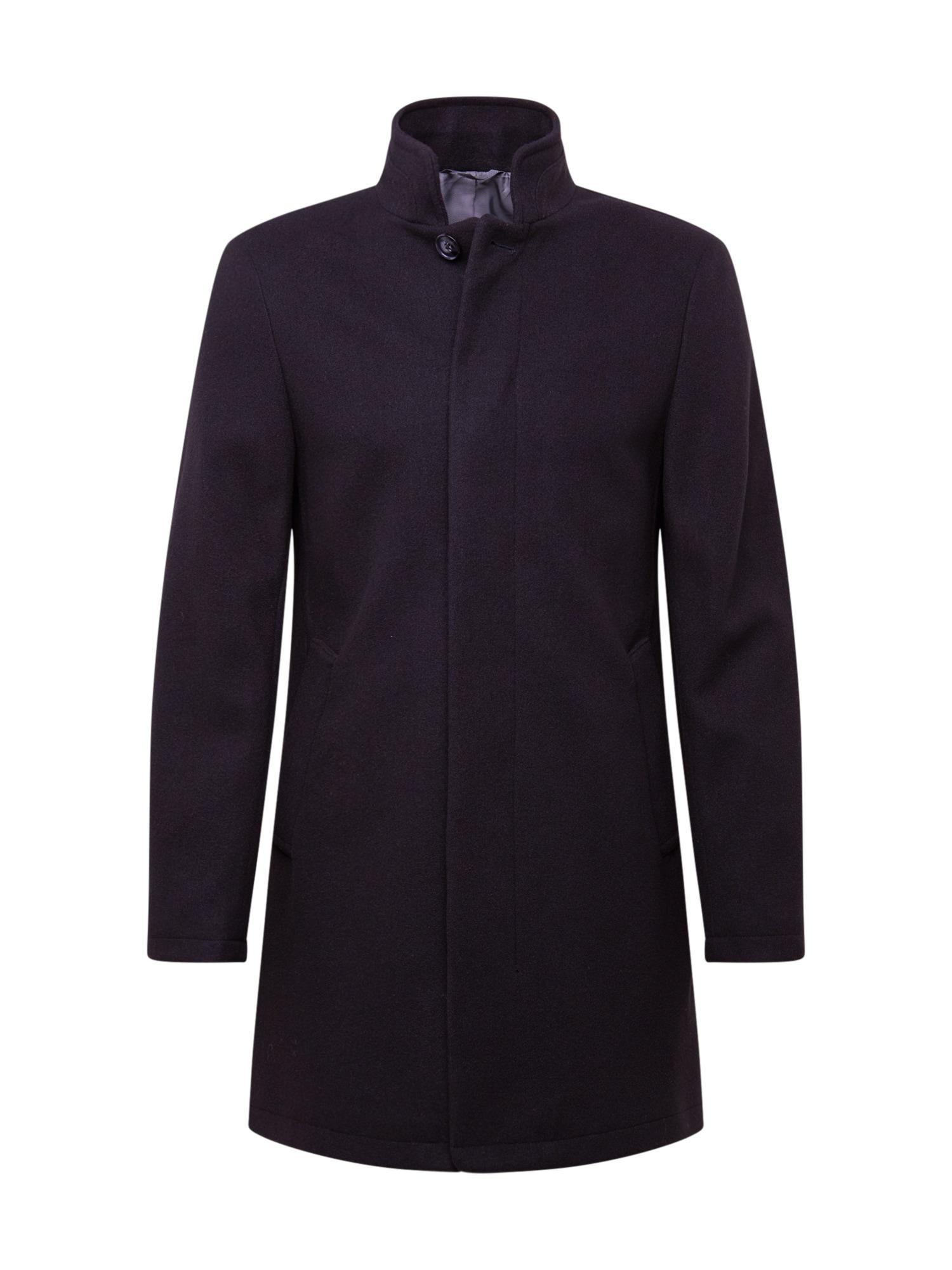 BURTON MENSWEAR LONDON Rudeninis-žieminis paltas juoda