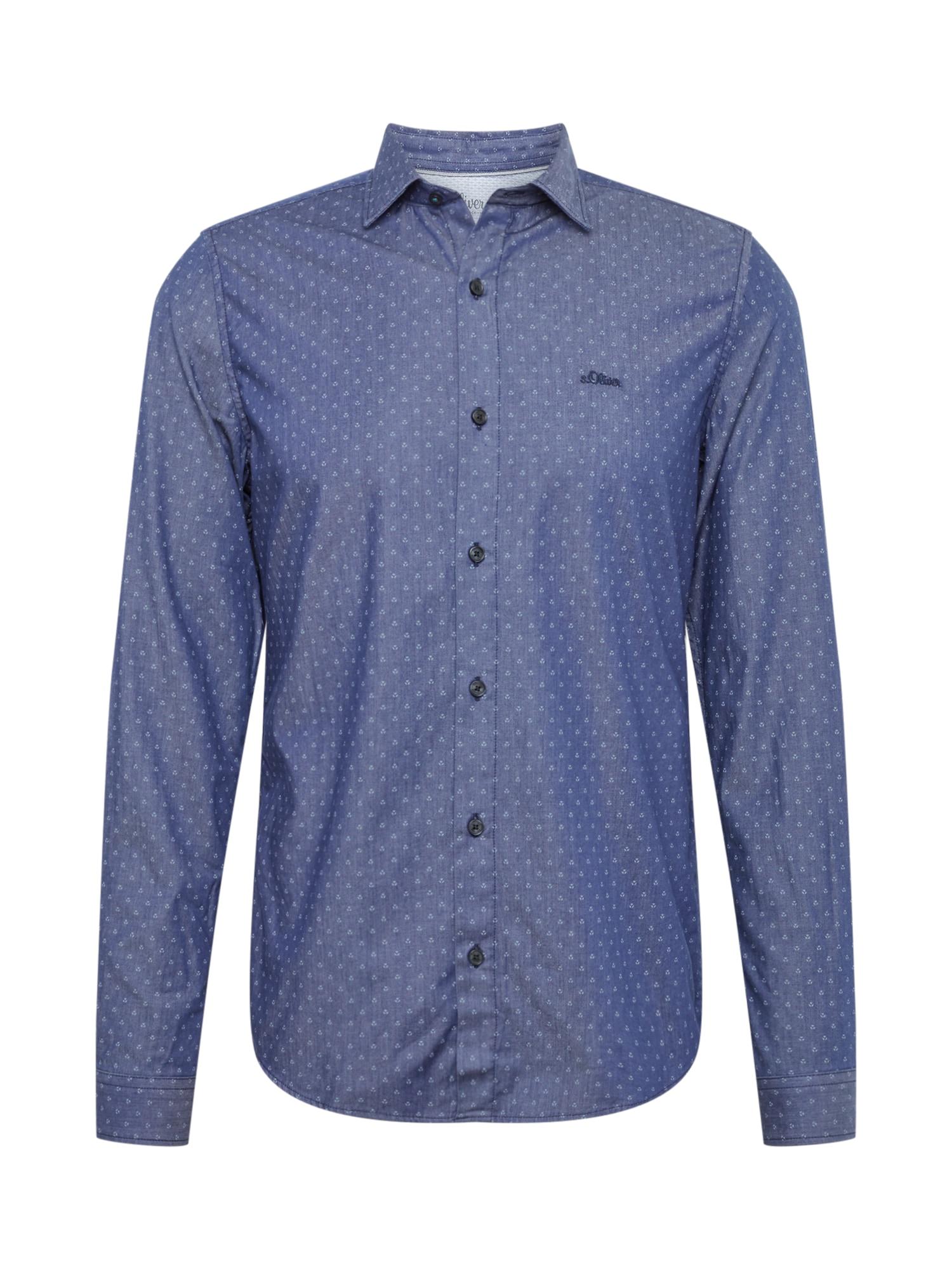 Košile námořnická modř S.Oliver RED LABEL