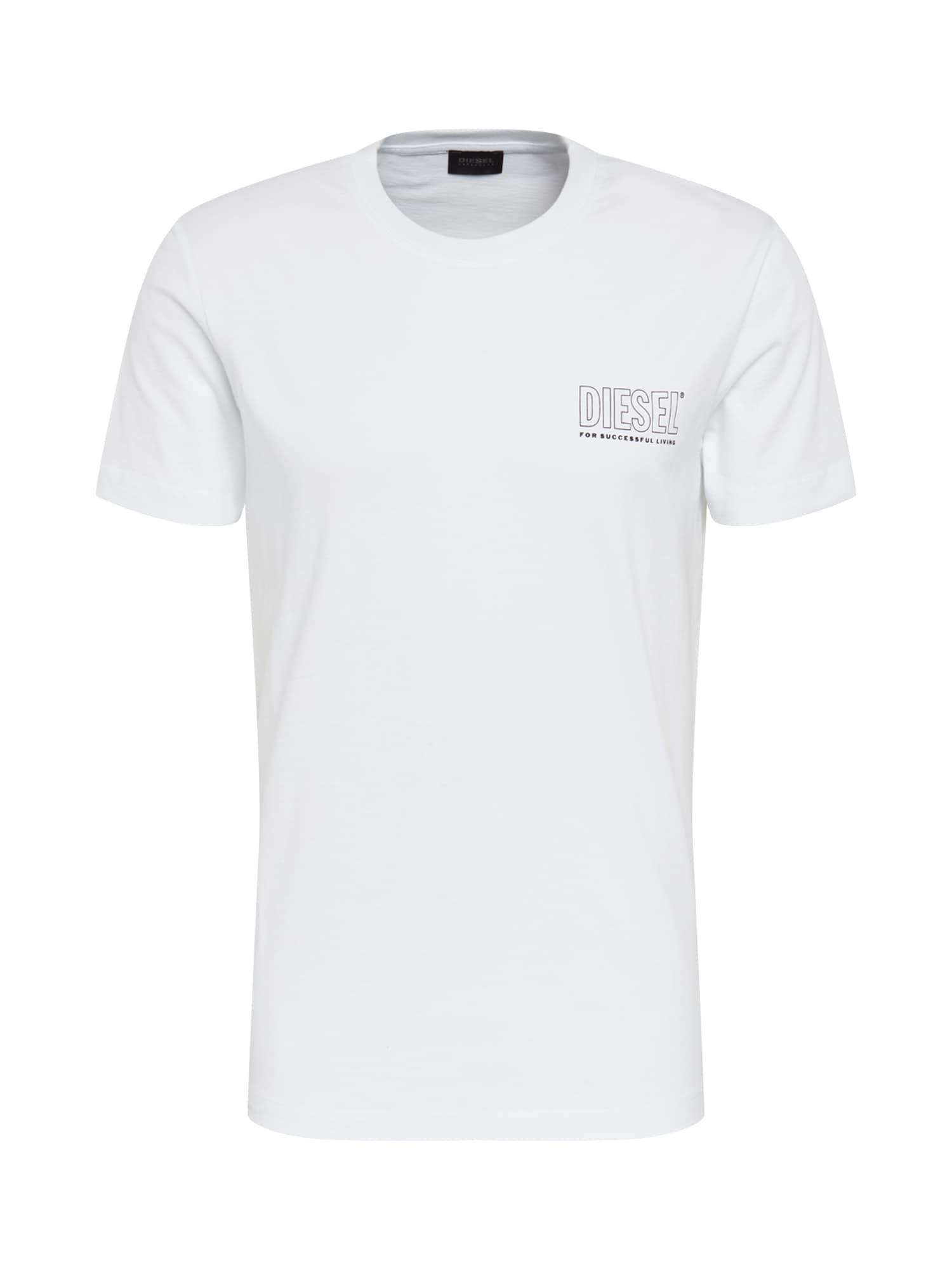 DIESEL Marškinėliai balta