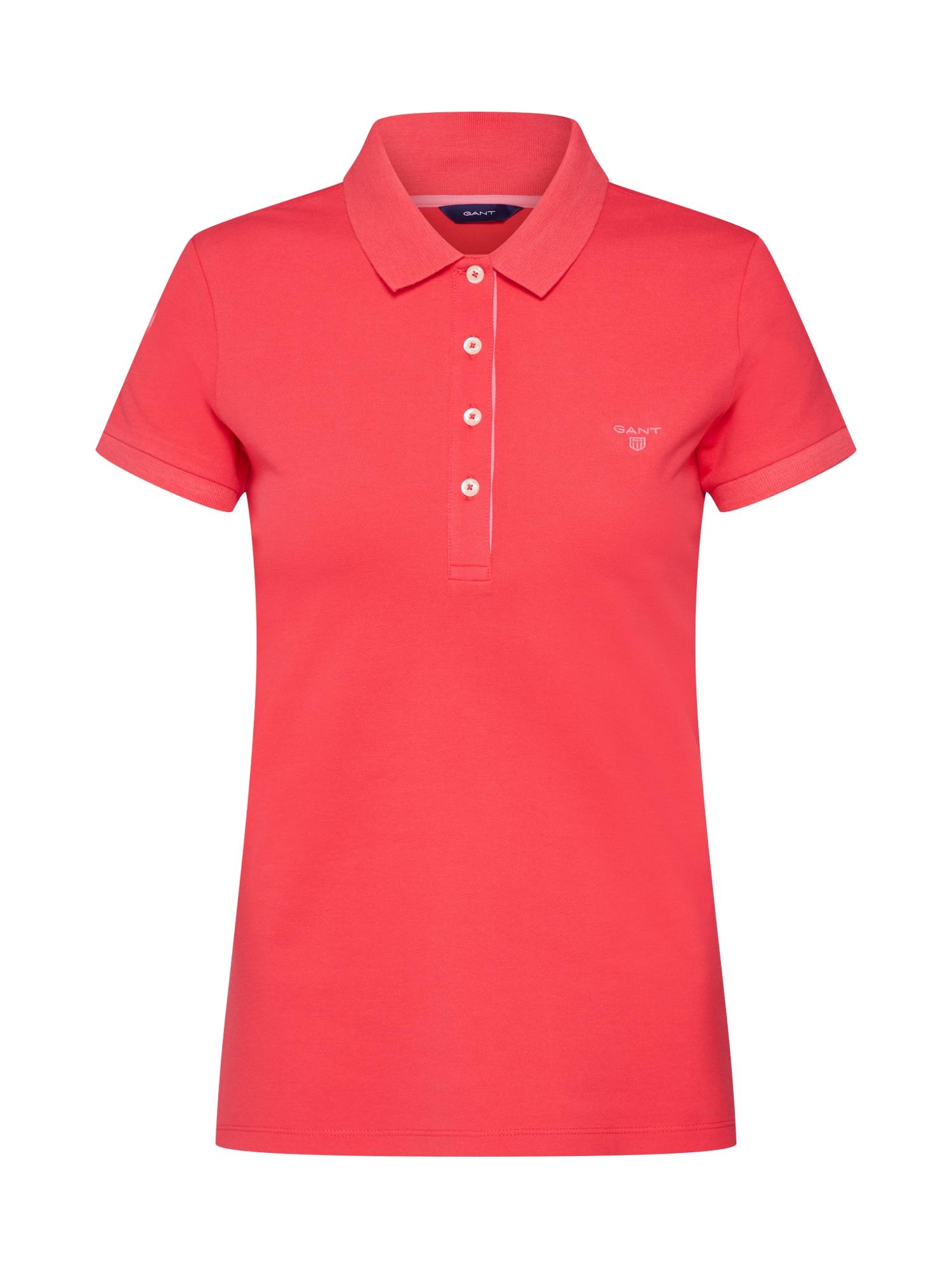 Tričko CONTRAST červená GANT
