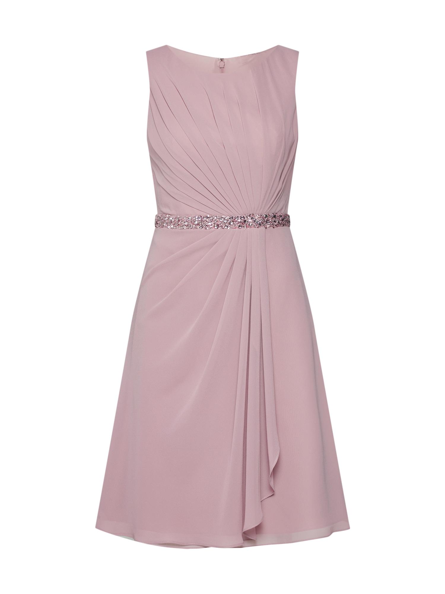 Koktejlové šaty MC181117 bledě fialová Mascara