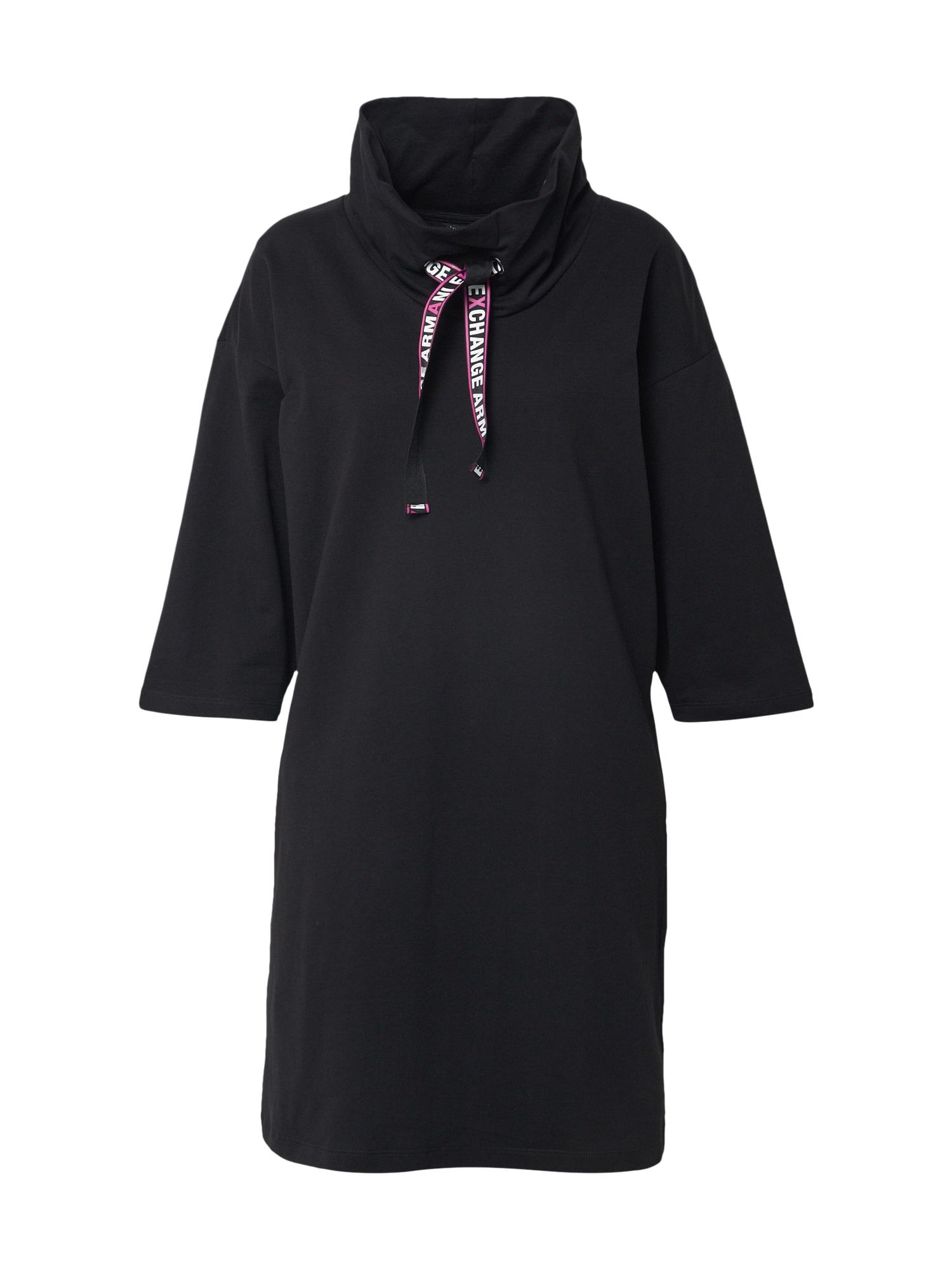 ARMANI EXCHANGE Šaty '3HYA87'  černá