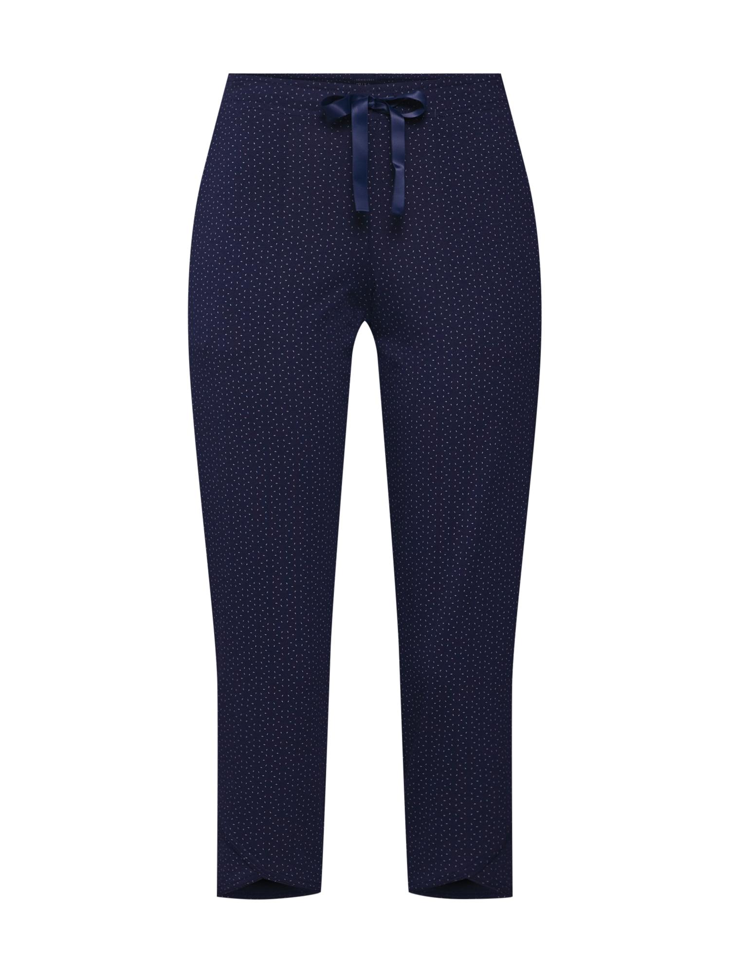 Pyžamo noční modrá SCHIESSER