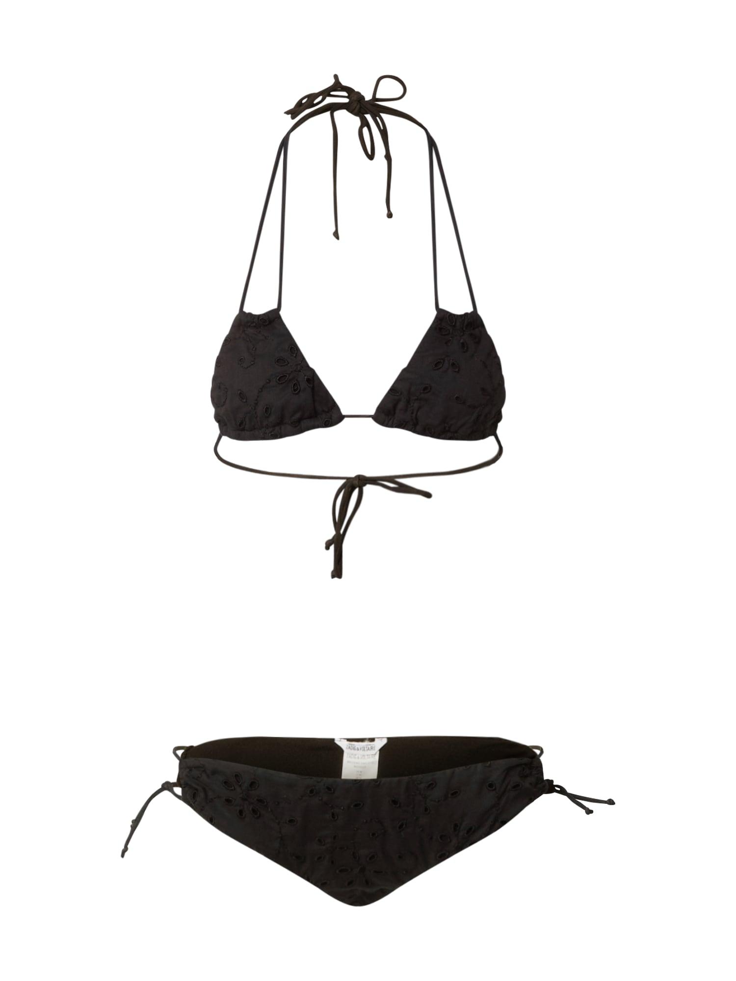 Zadig & Voltaire Bikinis juoda