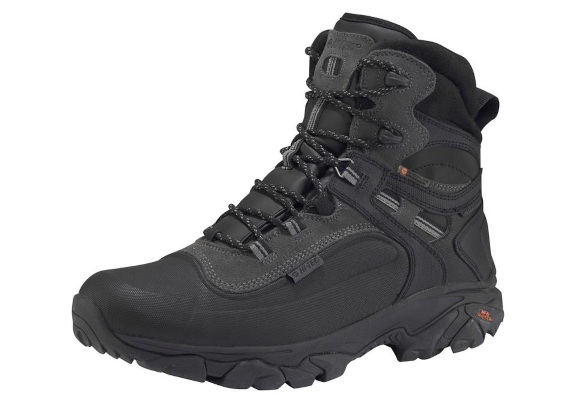 HI-TEC Auliniai batai tamsiai pilka / juoda