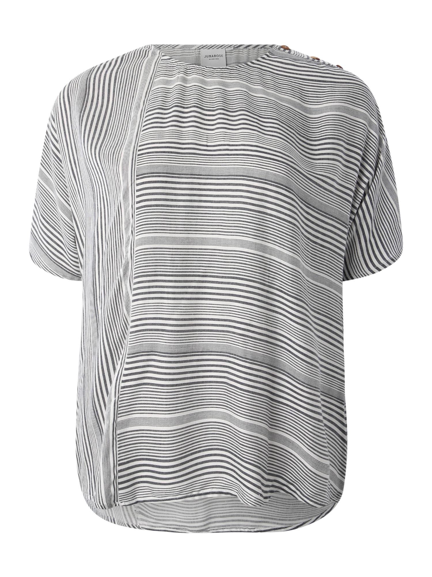 Junarose Marškinėliai 'JRADYA' balta / mėlyna