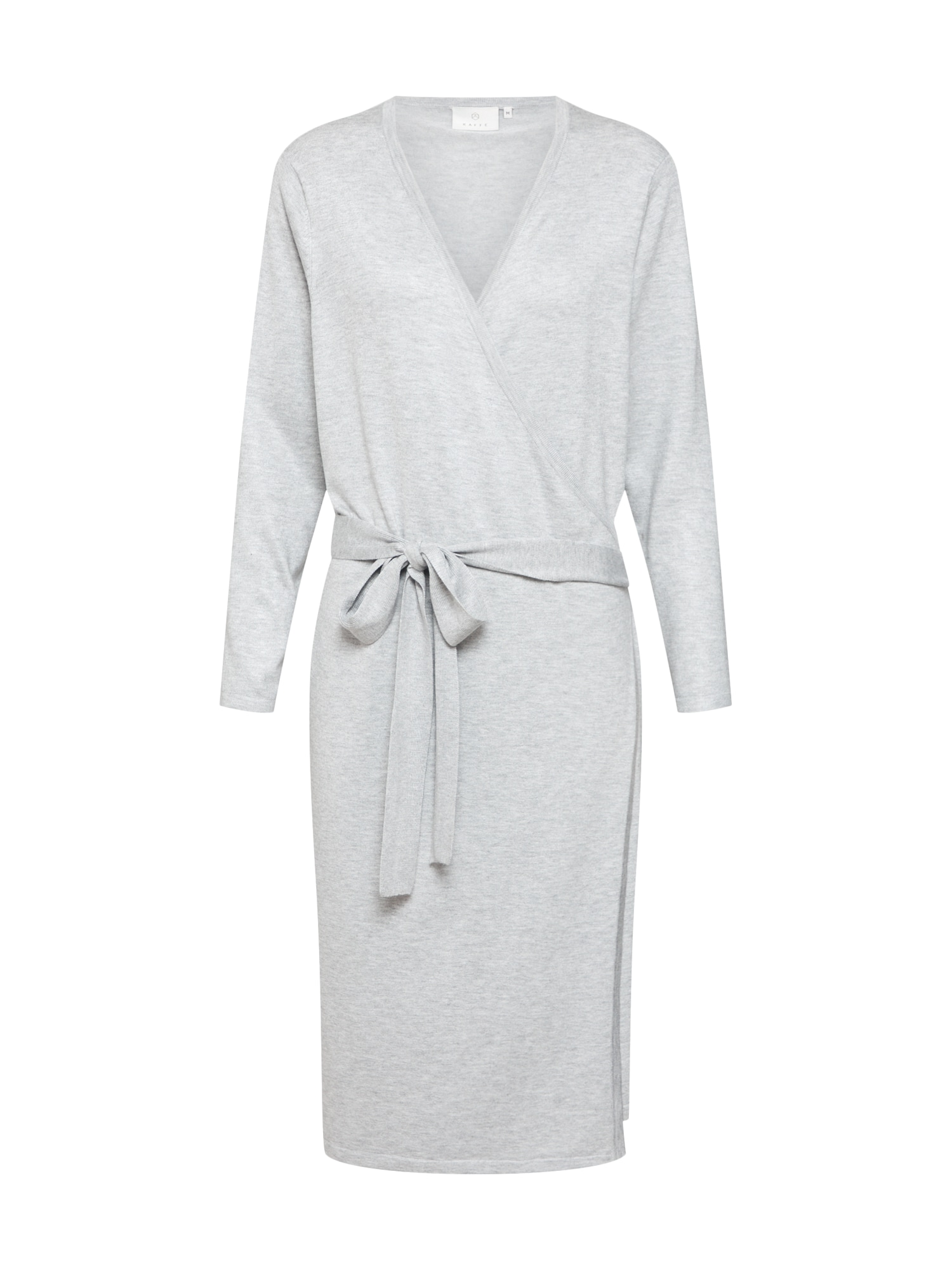 Šaty Anita Wrap Dress šedý melír Kaffe
