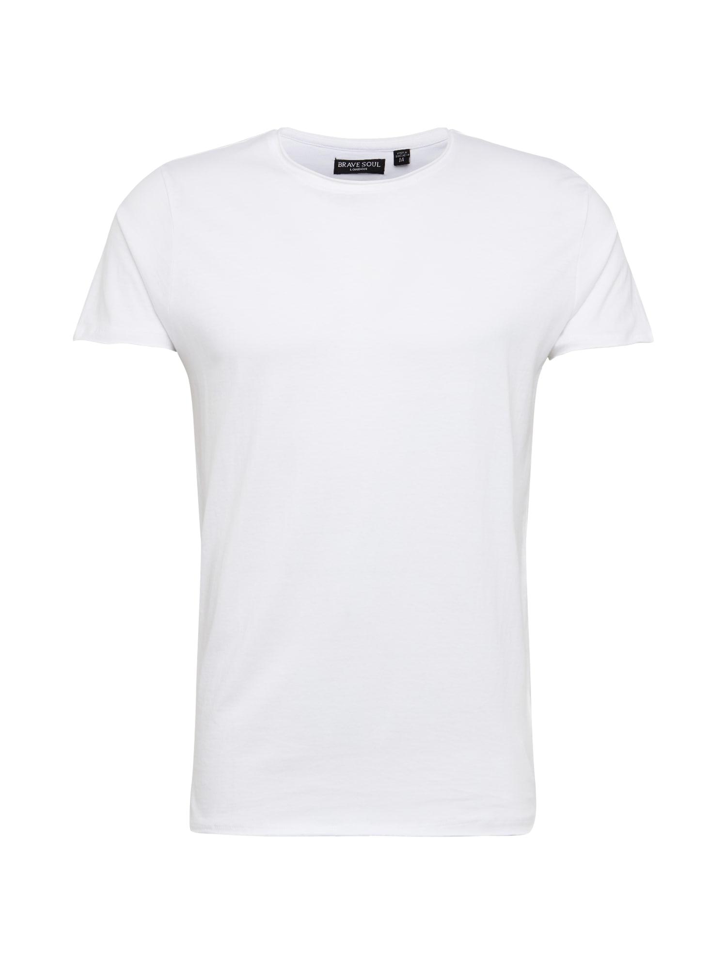 BRAVE SOUL Marškinėliai balta