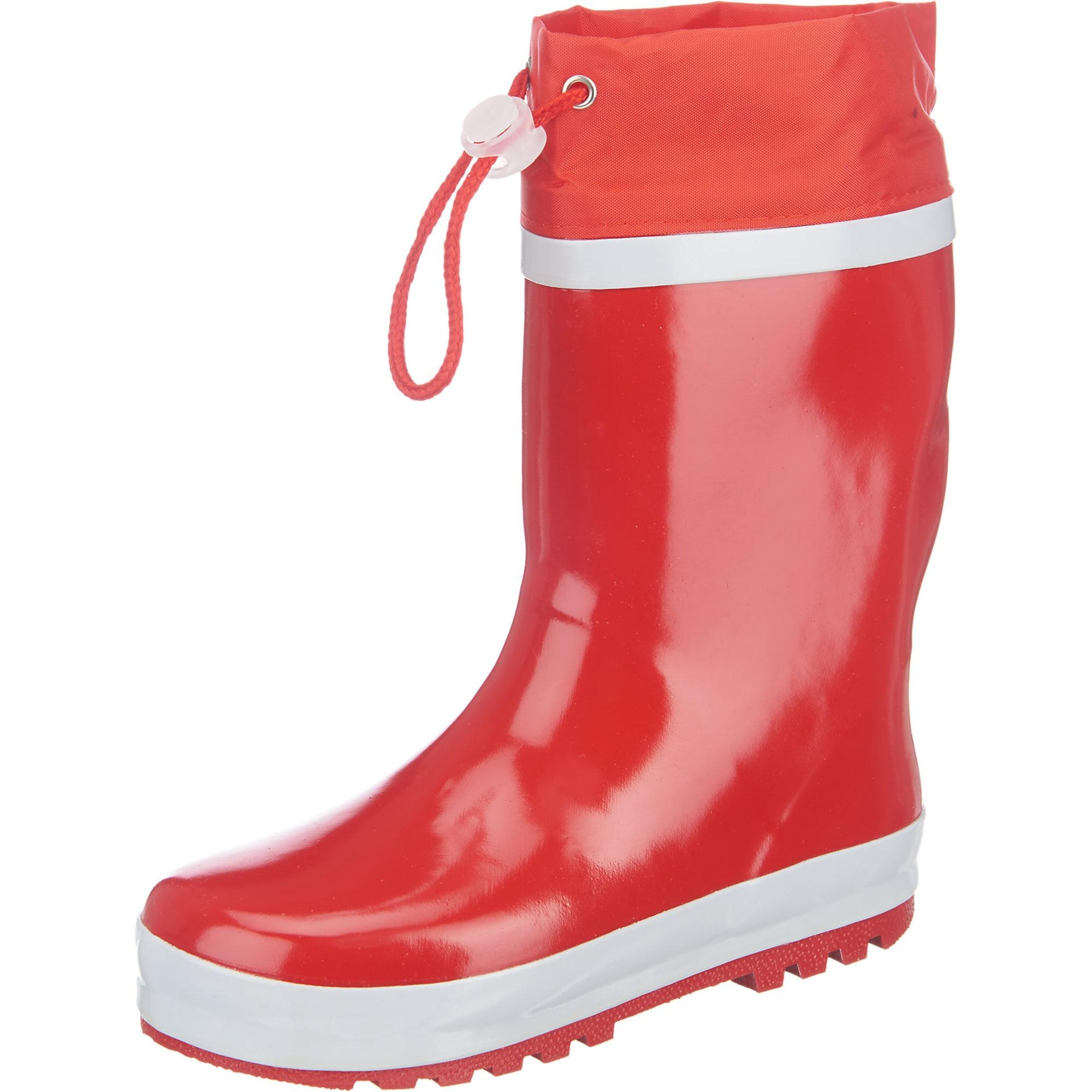 PLAYSHOES Guminiai batai balta / melionų spalva