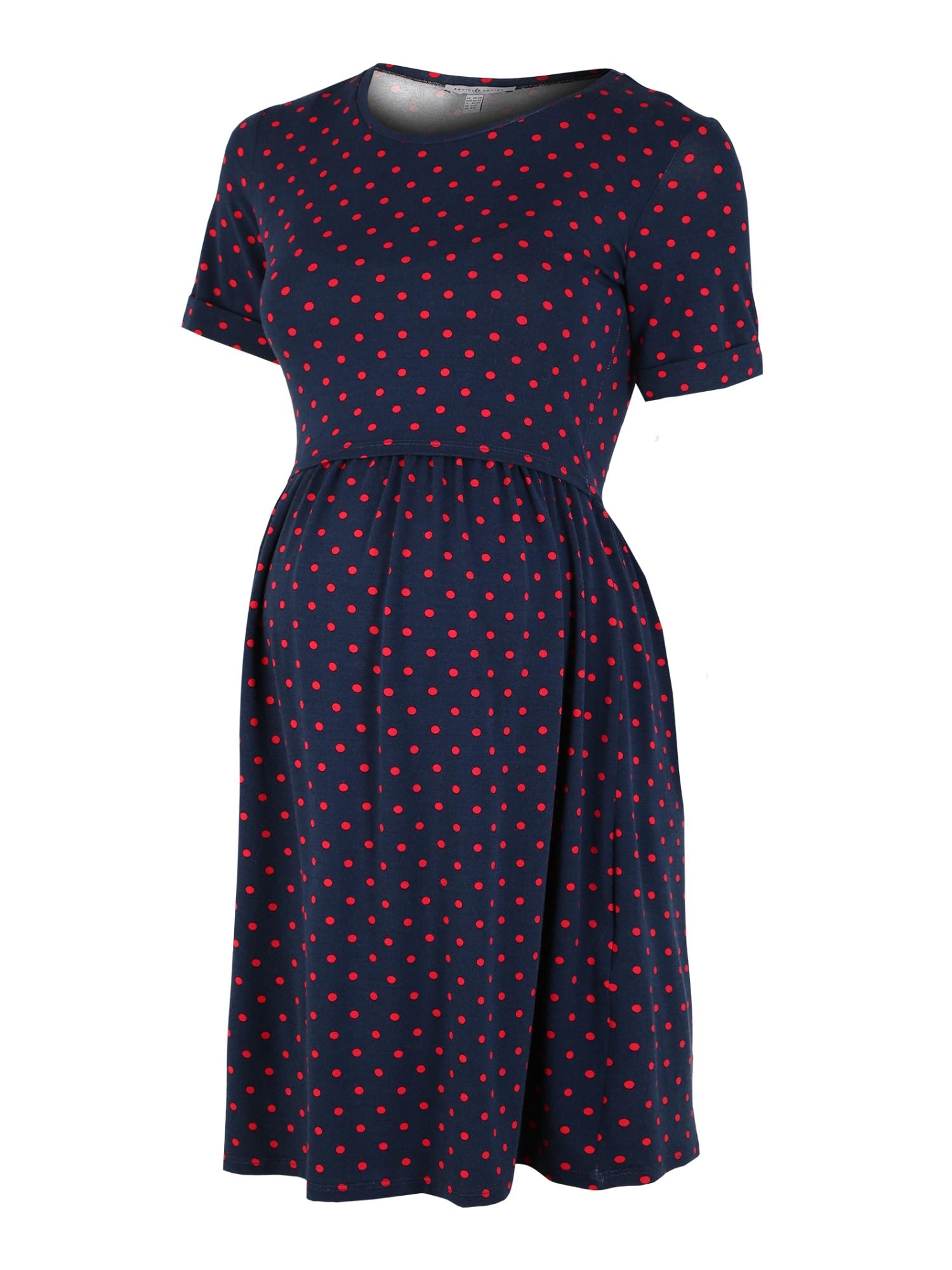 Envie de Fraise Suknelė tamsiai mėlyna / raudona