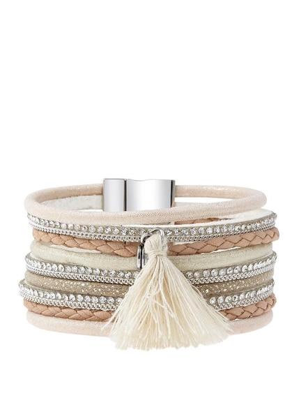 Armbaender - Armband › Lascana › beige creme hellbraun  - Onlineshop ABOUT YOU