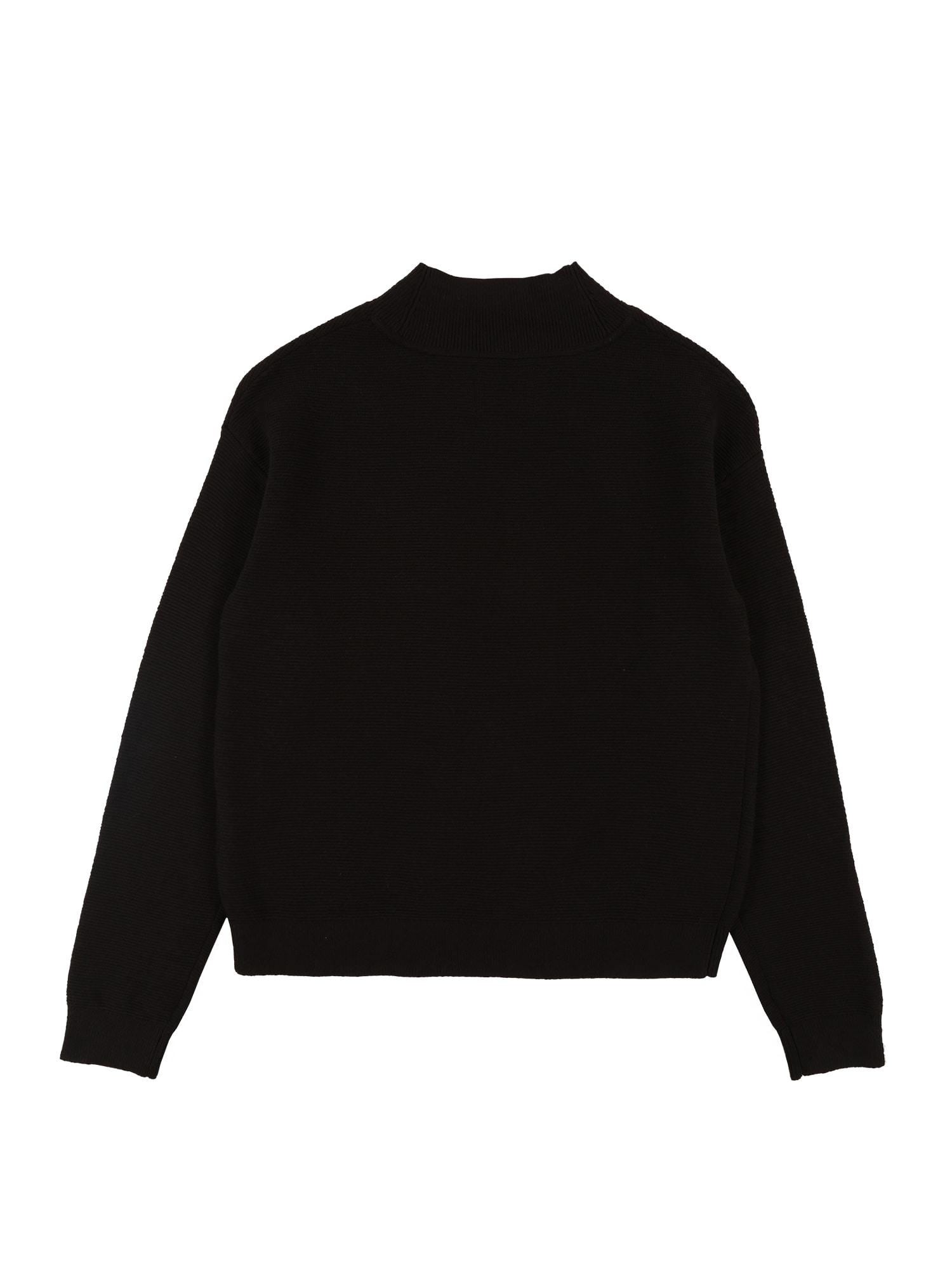 Calvin Klein Jeans Tröja 'OCO EXPLODED MONOGRAM'  svart / rosa / vit
