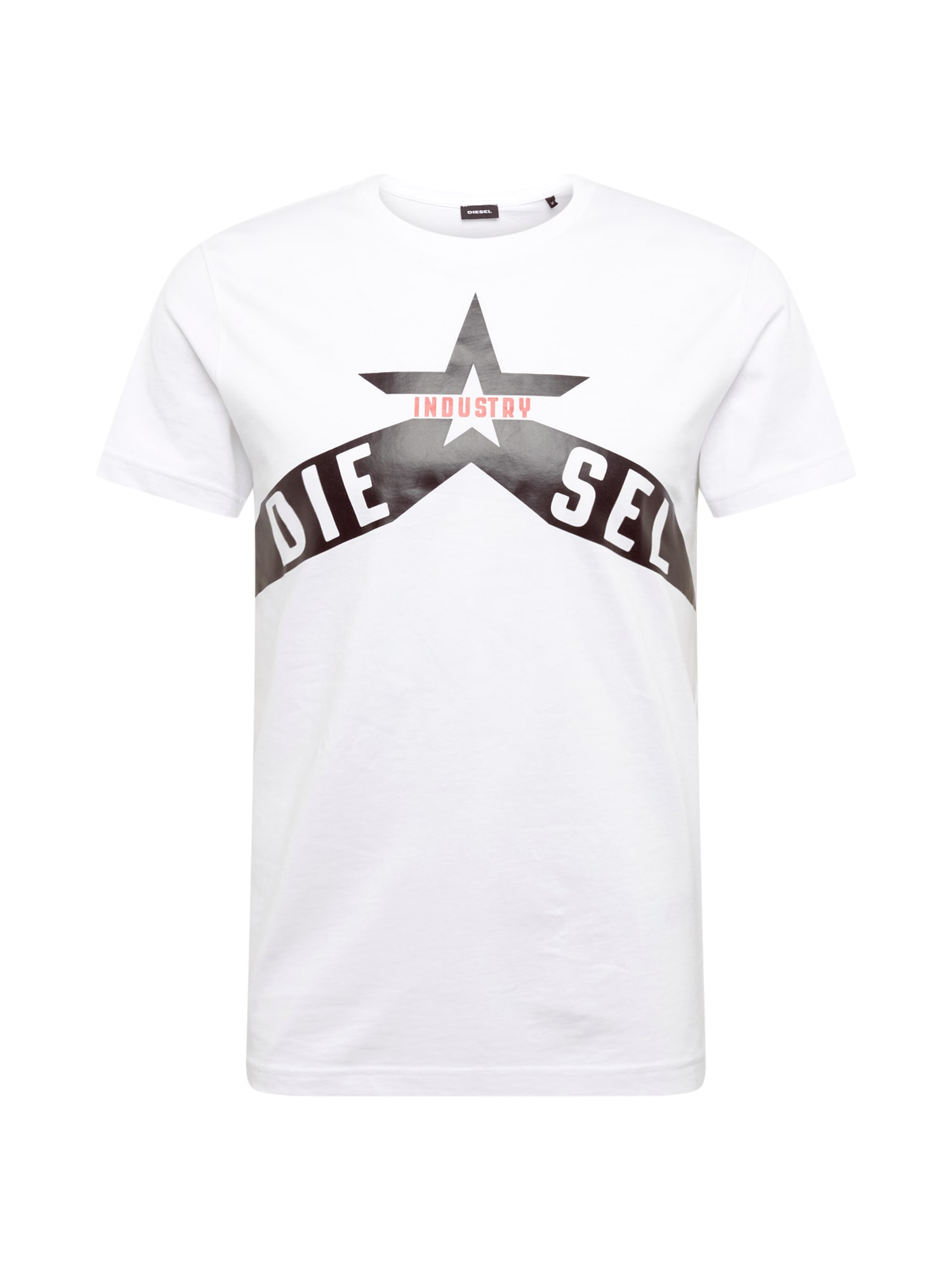 Tričko T-DIEGO černá bílá DIESEL