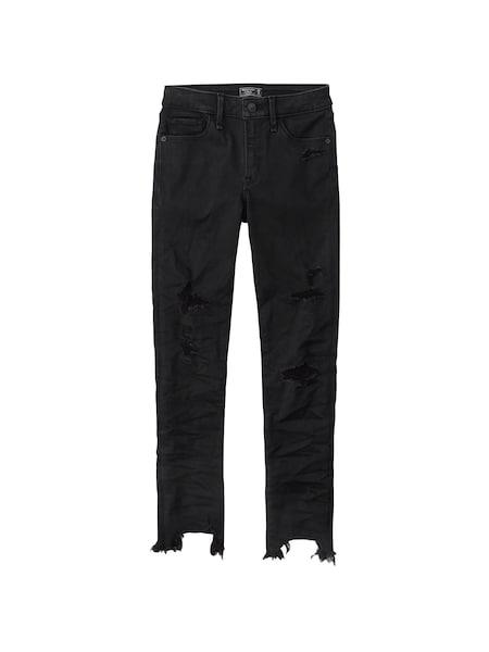 Hosen - Jeans › Abercrombie Fitch › black denim  - Onlineshop ABOUT YOU