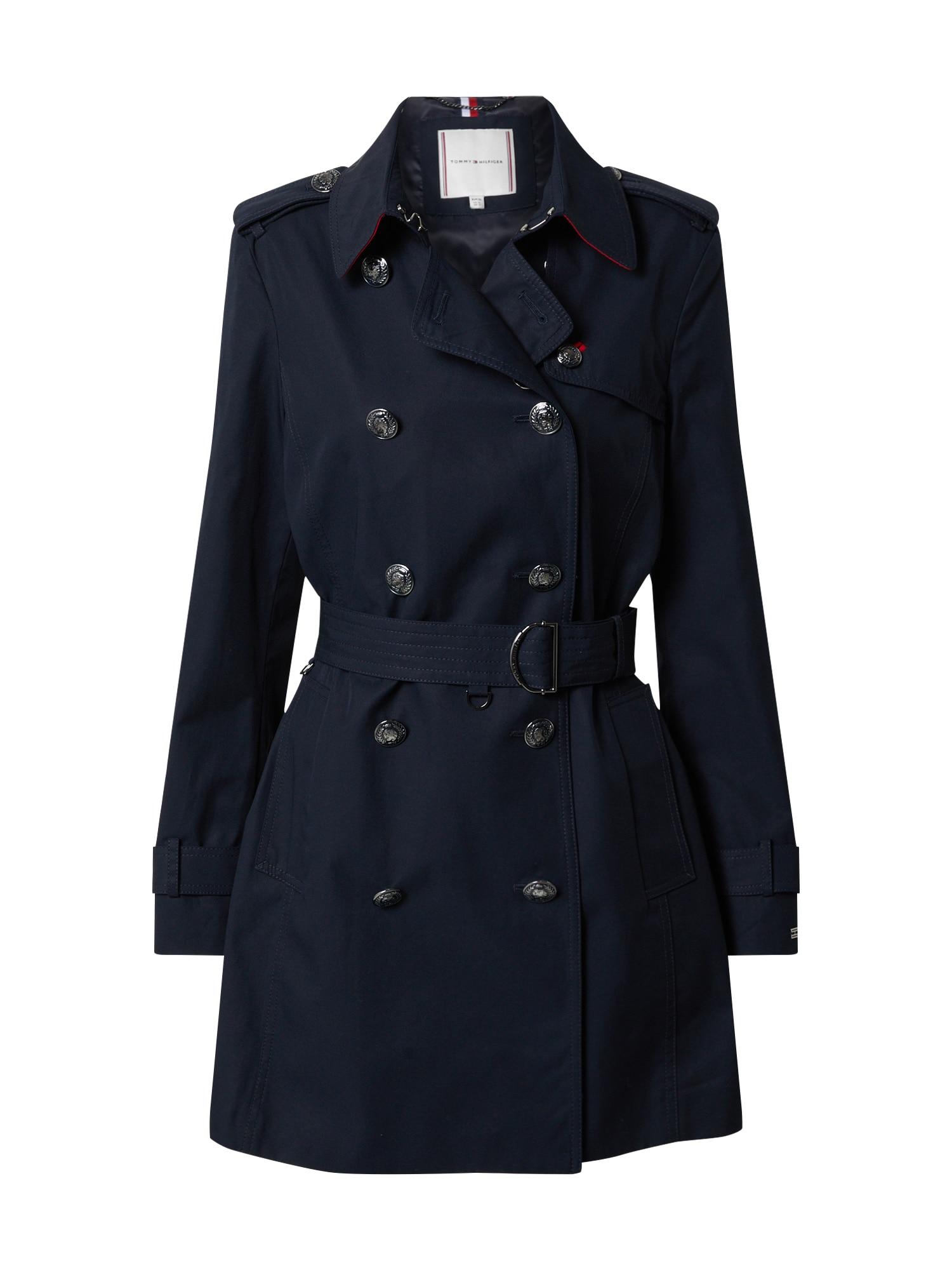 TOMMY HILFIGER Rudeninis-žieminis paltas 'MEGAN' tamsiai mėlyna