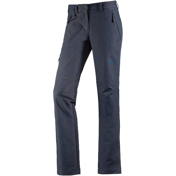 Hosen für Frauen - JACK WOLFSKIN 'Activate Sky' Softshellhose Damen nachtblau  - Onlineshop ABOUT YOU
