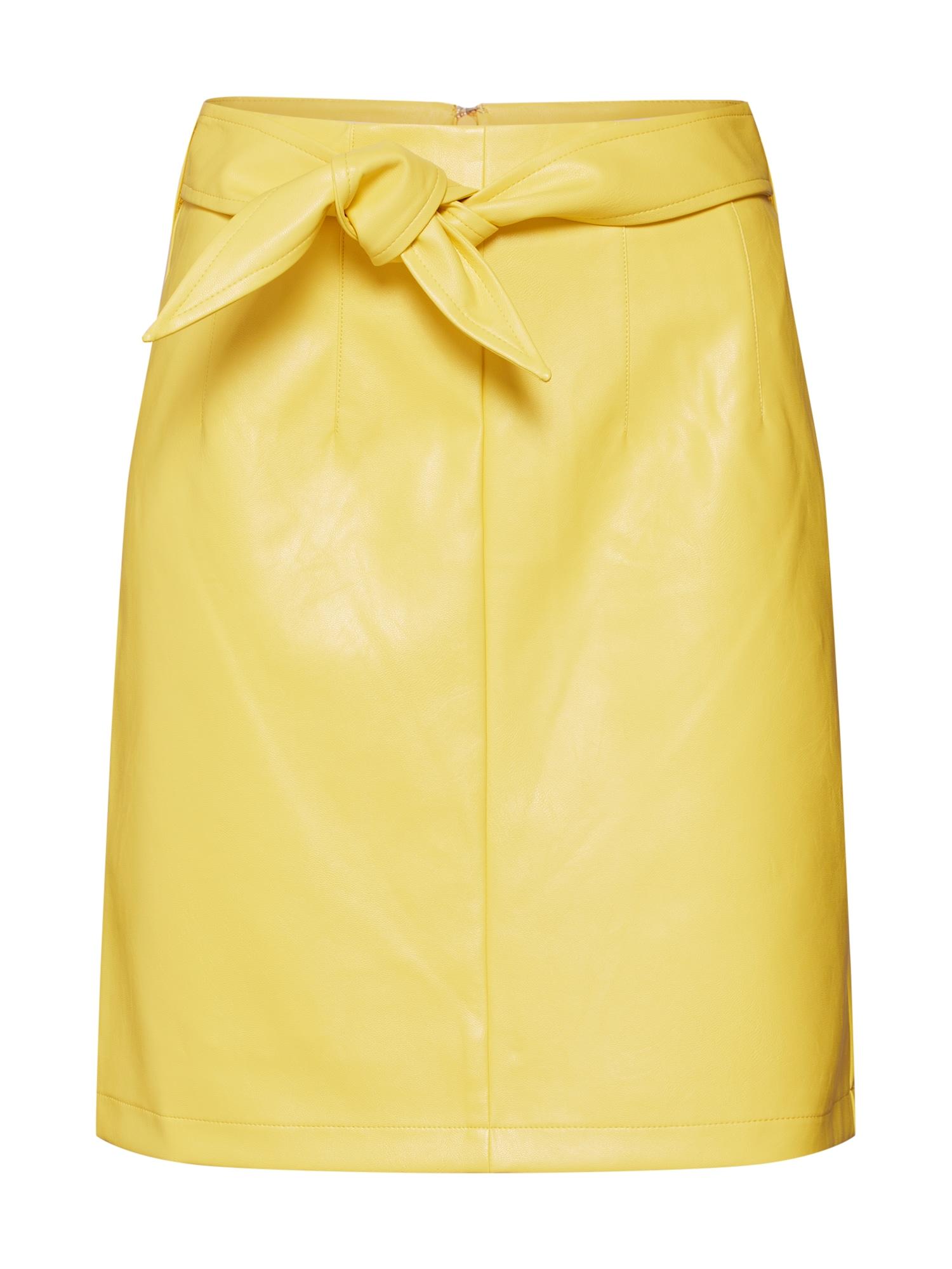 Sukně žlutá Aaiko
