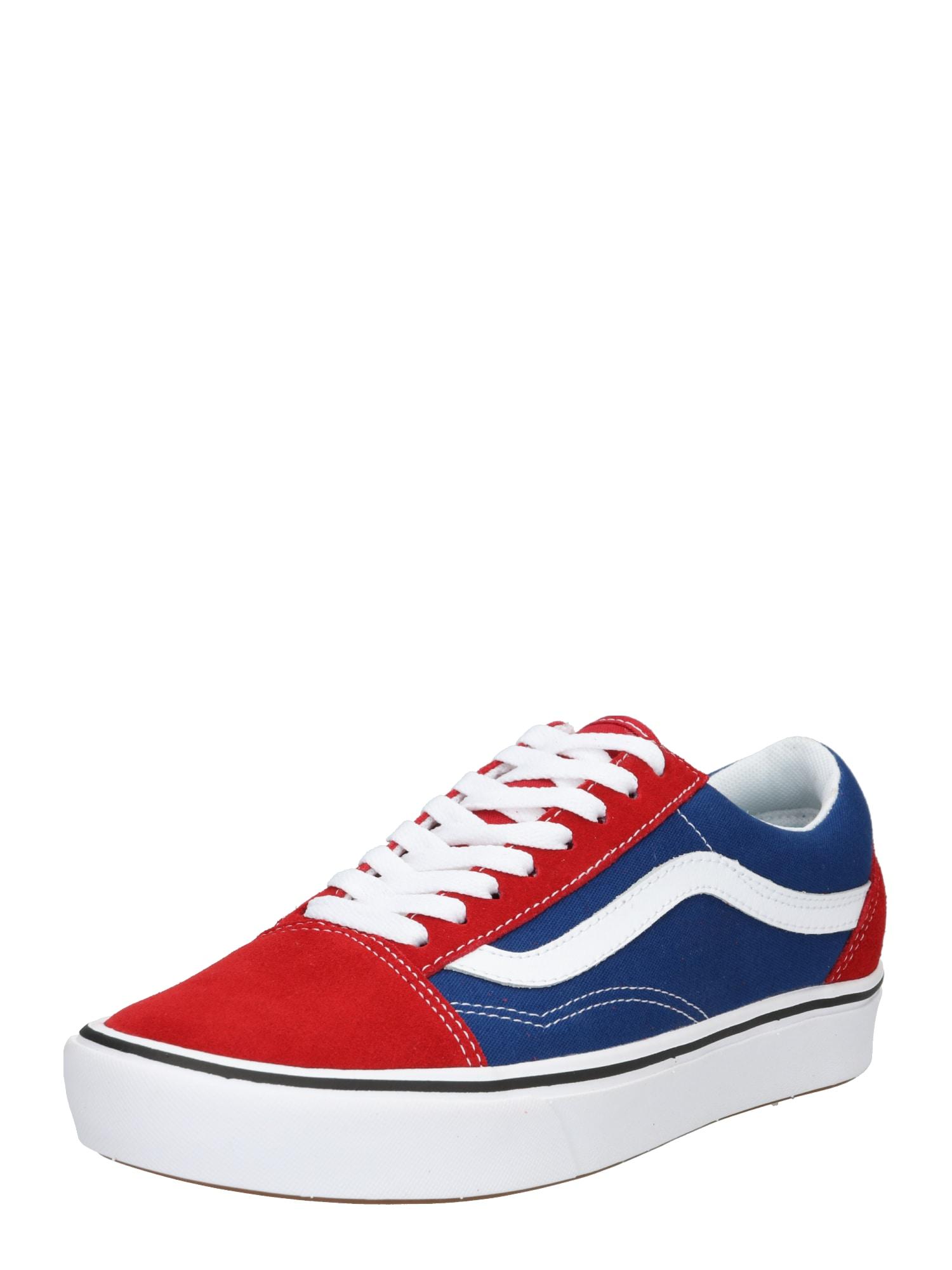 Tenisky modrá červená bílá VANS