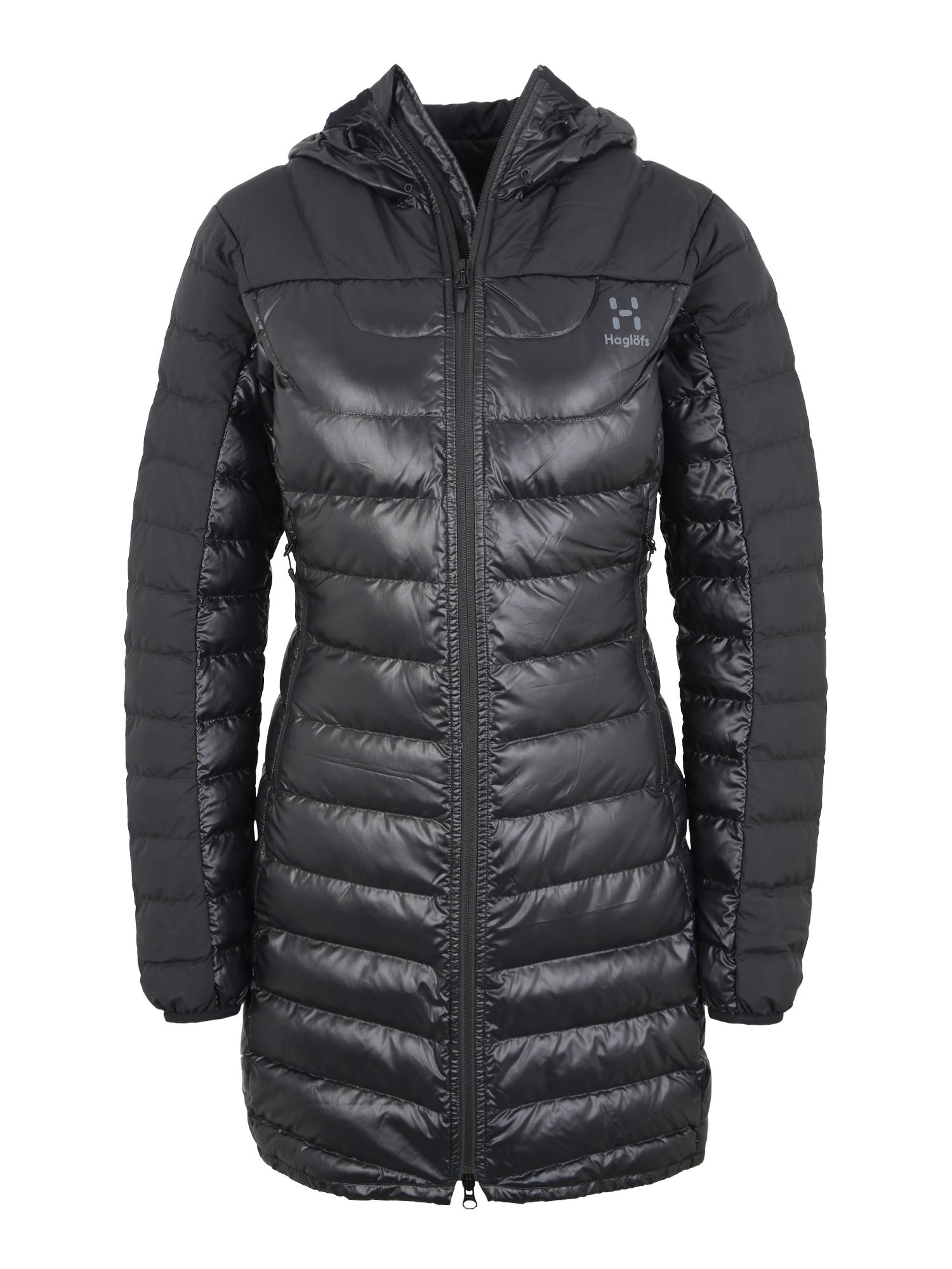 Outdoorová bunda Bivvy tmavě šedá Haglöfs